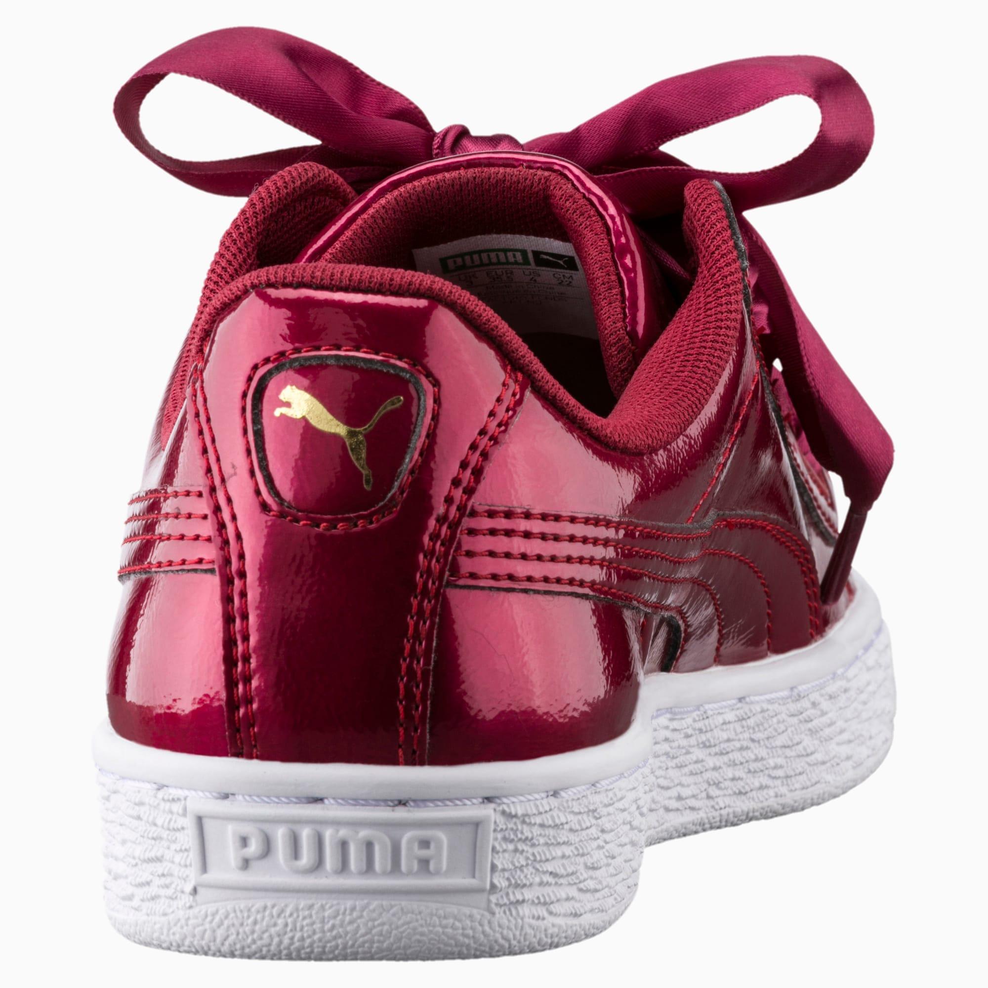 Basket Heart Glam Girls' Sneakers