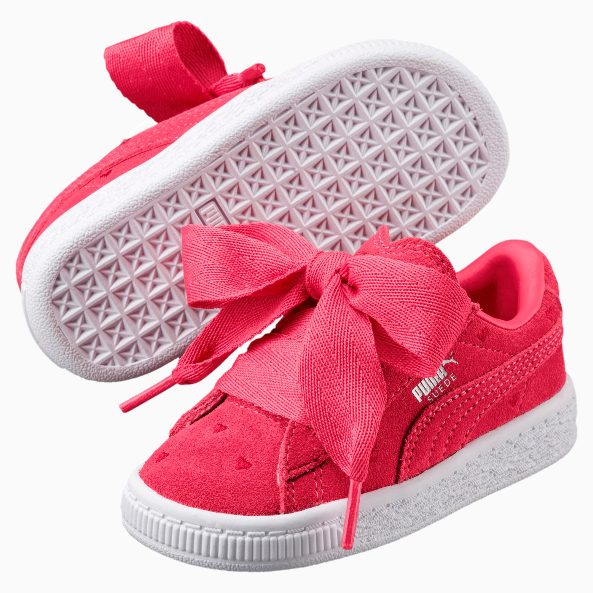 Buty Puma SUEDE HEART VALENTINE PARADISE PINKPARADISE PINK