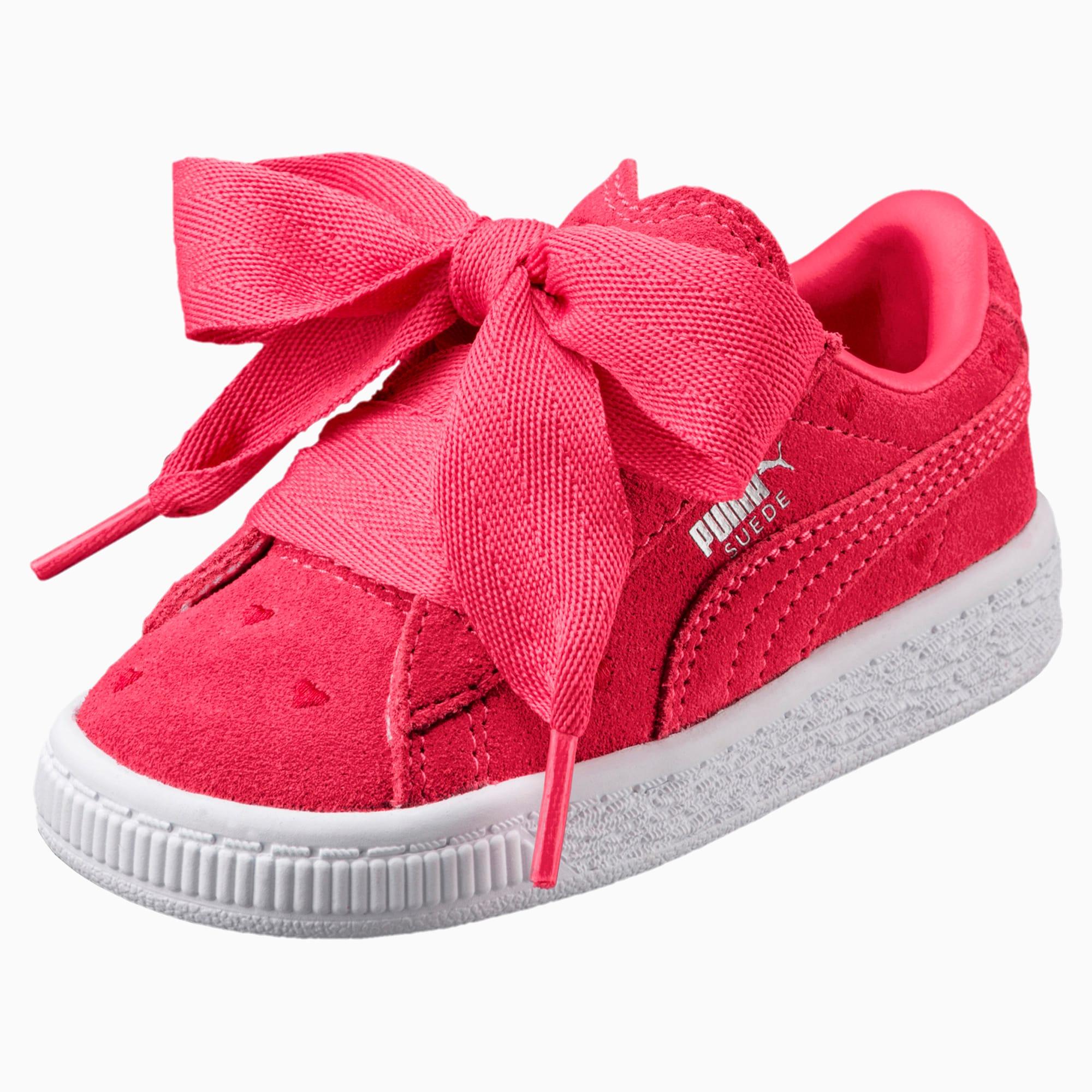 Suede Heart Valentine Little Kids' Shoes