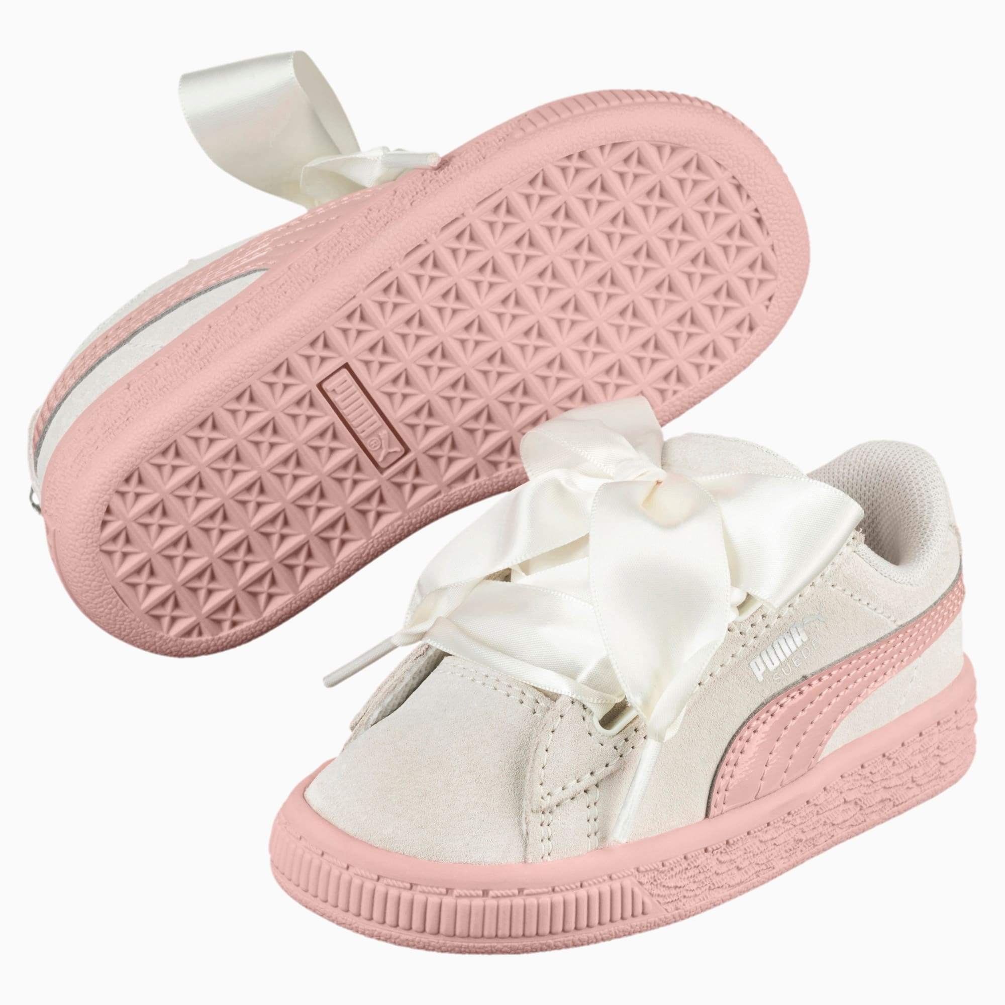 Suede Heart Jewel Toddler Shoes | PUMA US