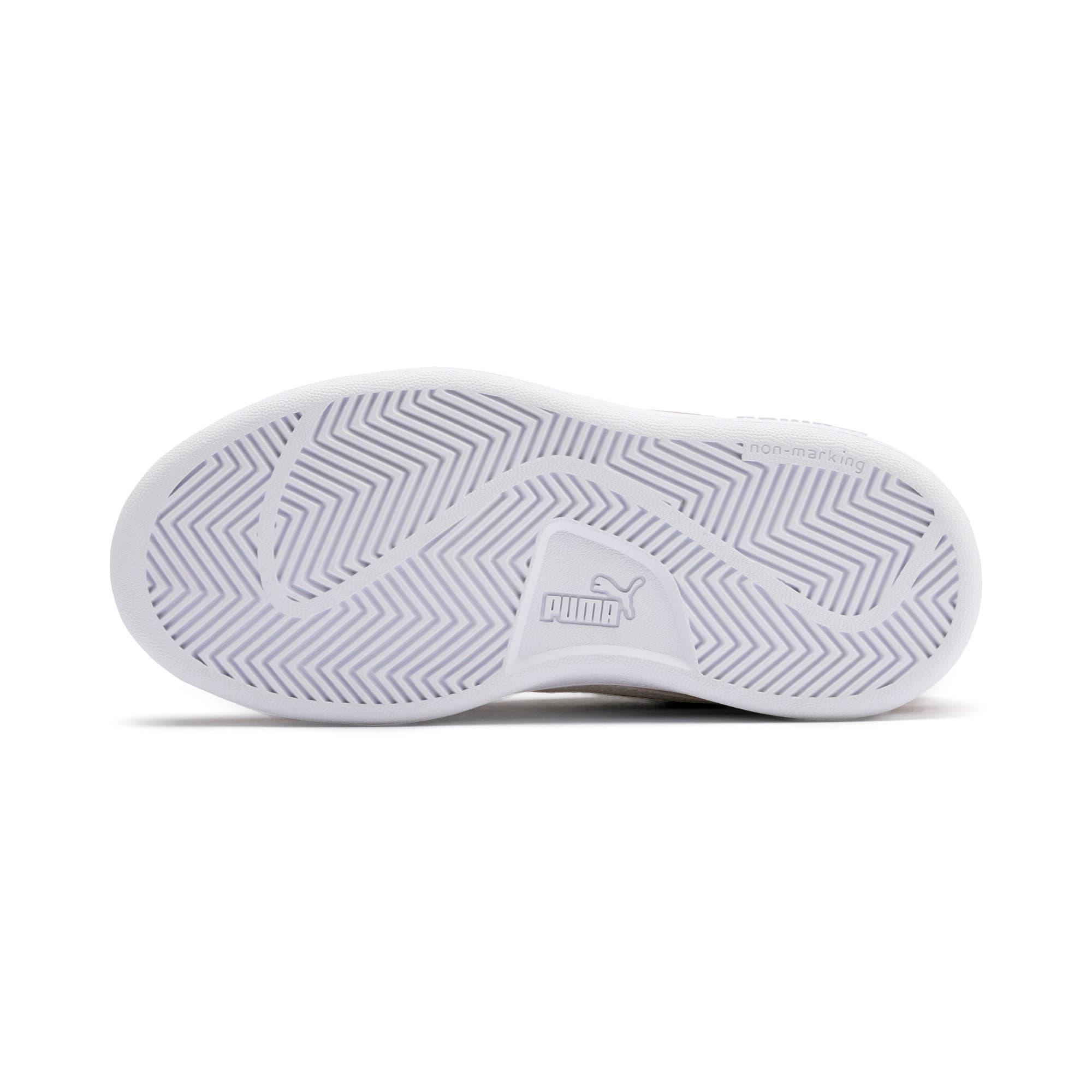 Thumbnail 4 of Smash v2 Suede Little Kids' Shoes, Rhubarb-Puma White, medium