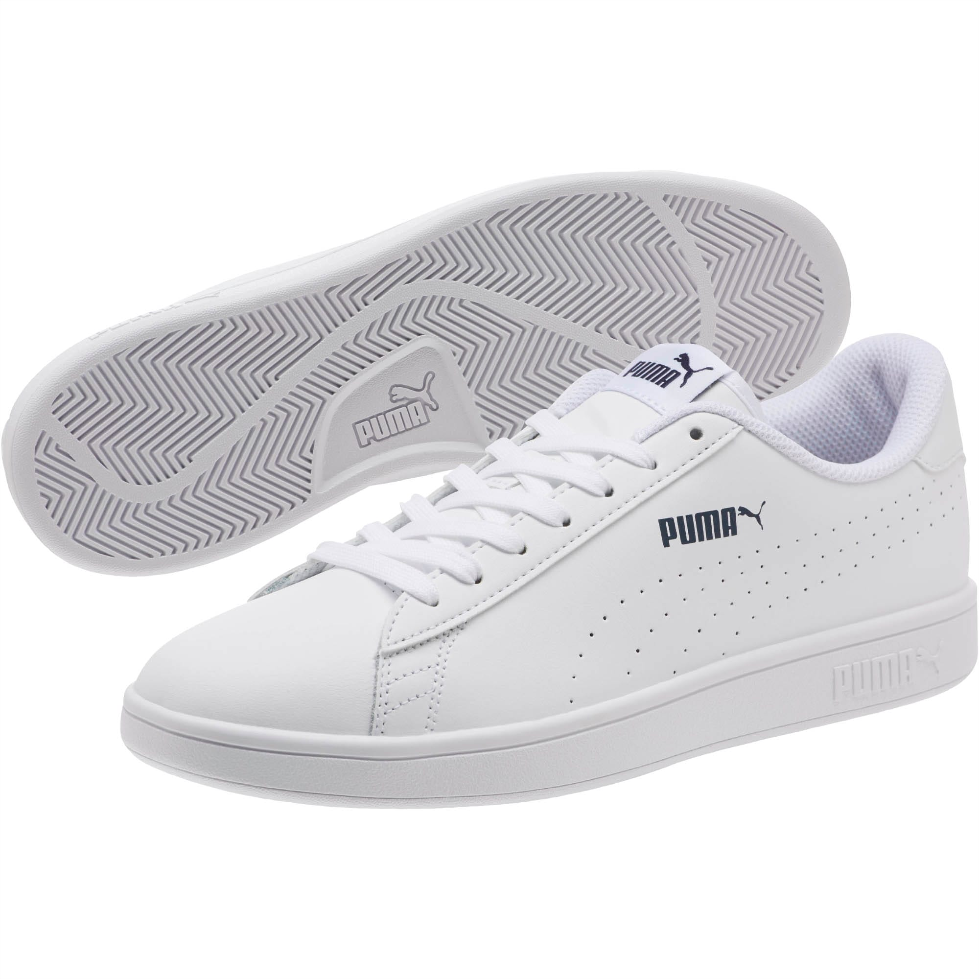 puma smash leather femme