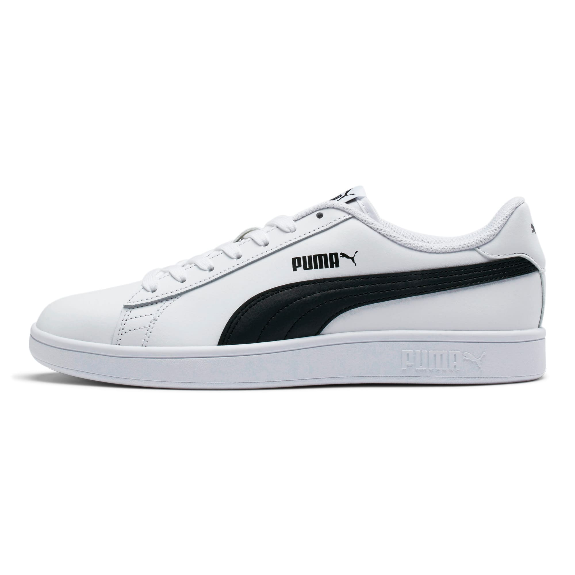 Thumbnail 1 of PUMA Smash v2 Sneakers, Puma White-Puma Black, medium