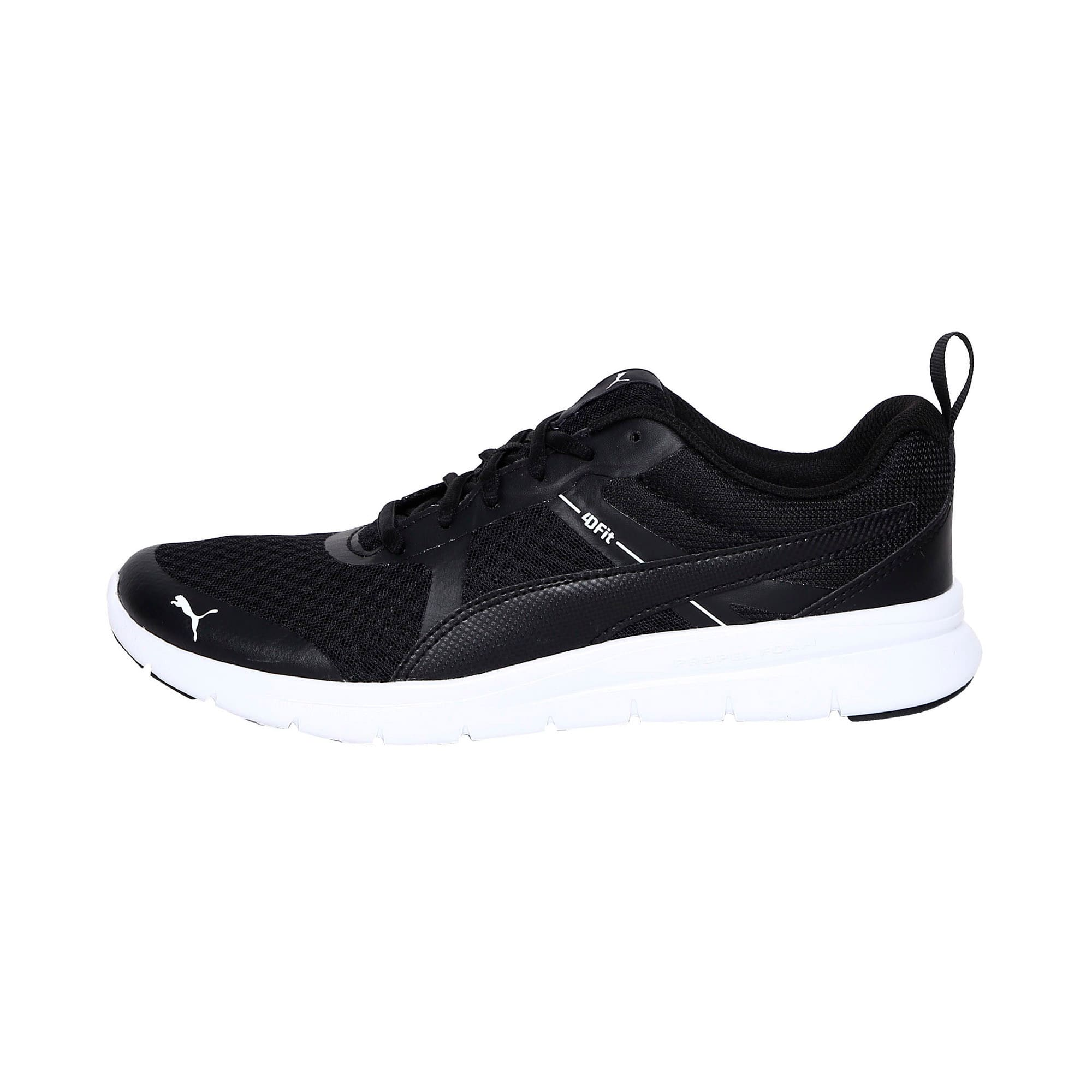 Thumbnail 1 of Flex Essential Trainers, Puma Black-Puma Black, medium-IND