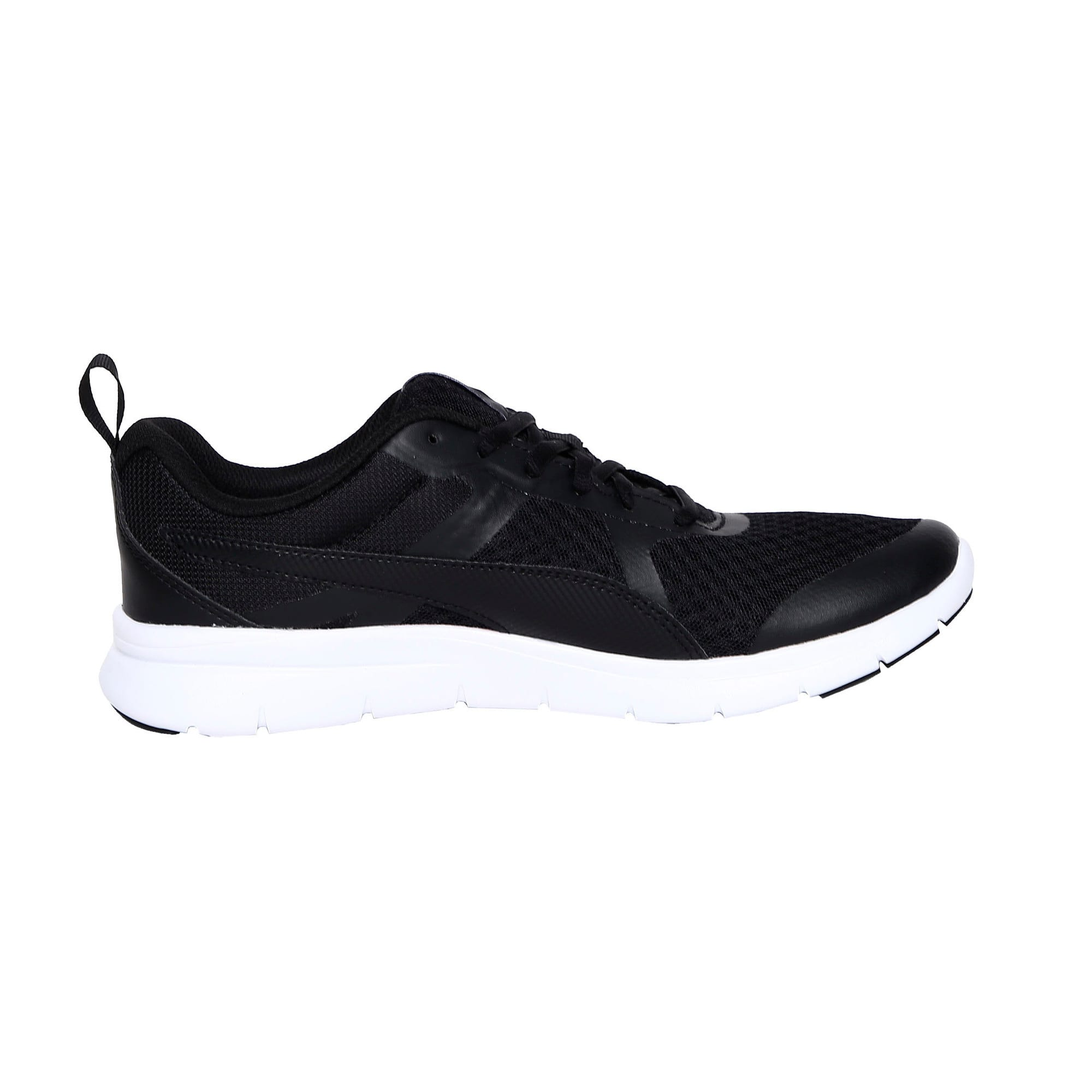 Thumbnail 5 of Flex Essential Trainers, Puma Black-Puma Black, medium-IND