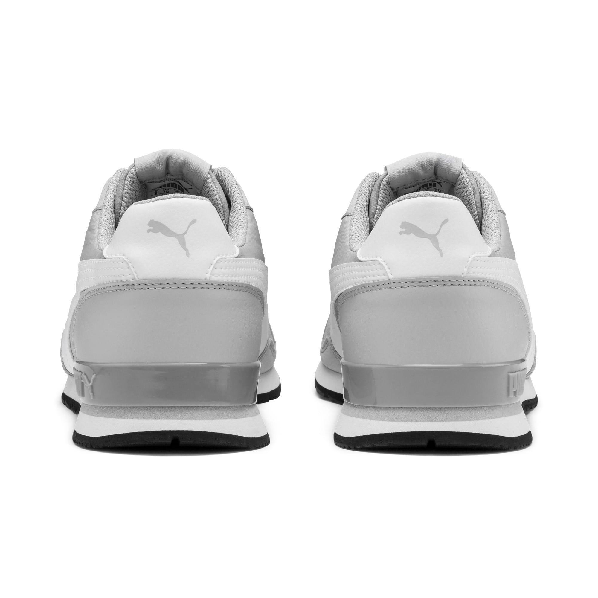 Thumbnail 4 of ST Runner v2 Sneakers, High Rise-Puma White, medium