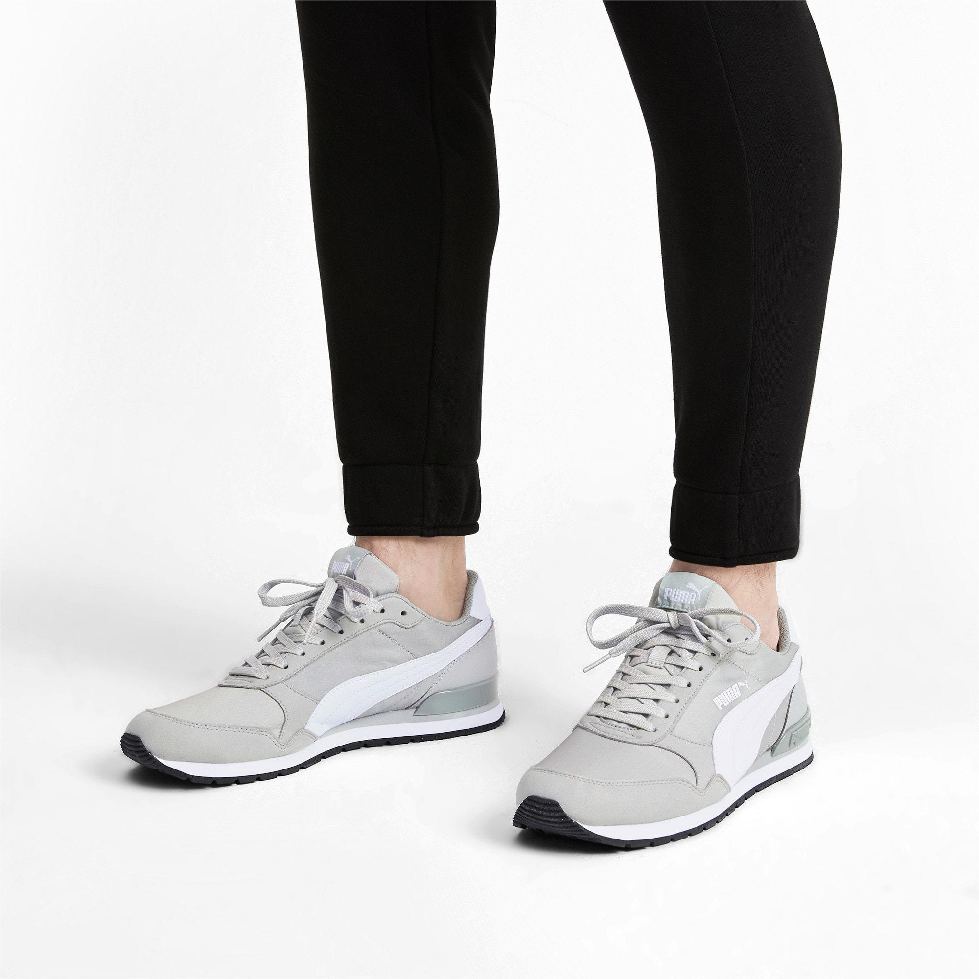 Thumbnail 3 of ST Runner v2 Sneakers, High Rise-Puma White, medium