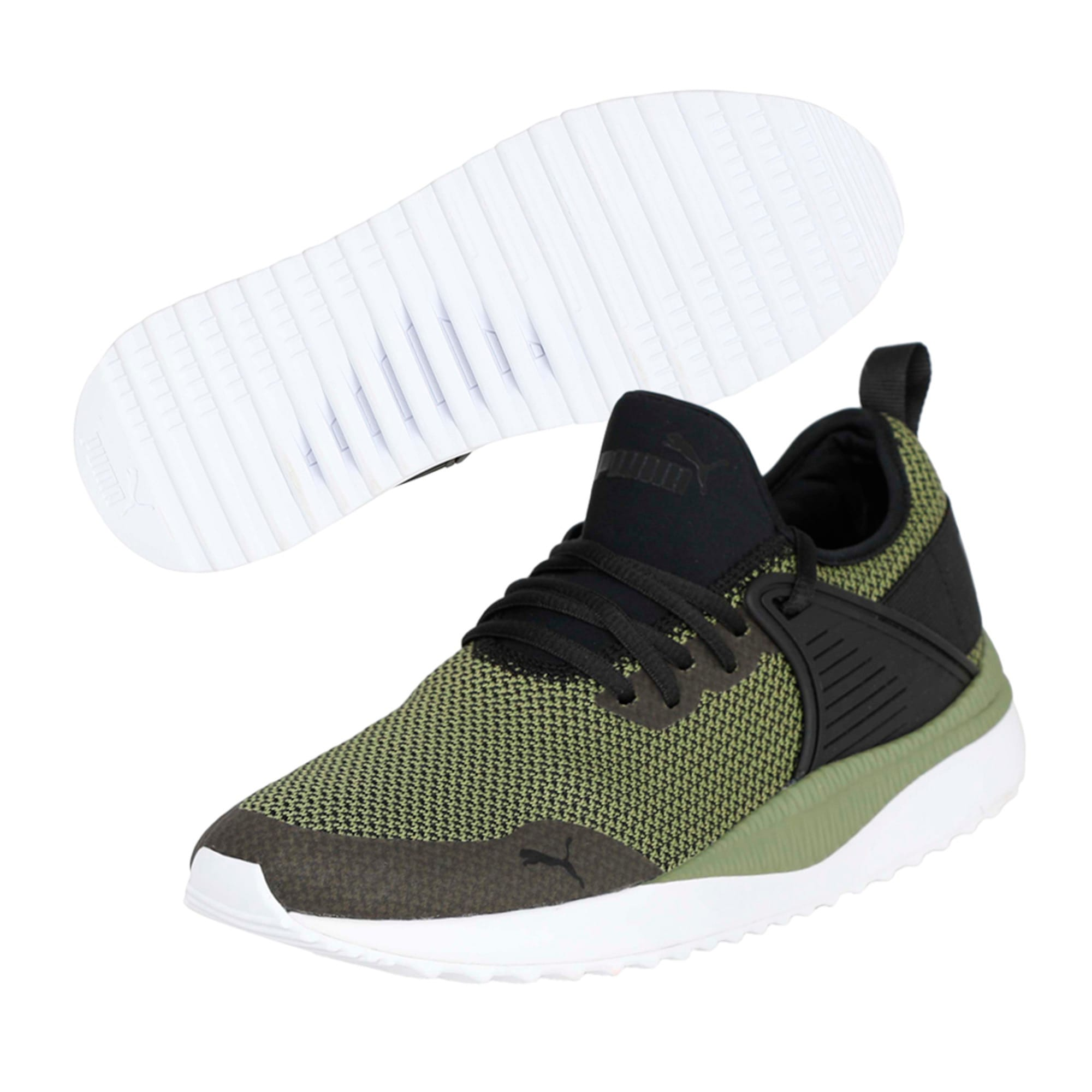 Thumbnail 2 of Pacer Next Cage GK Trainers, Puma Black-Capulet Olive, medium-IND