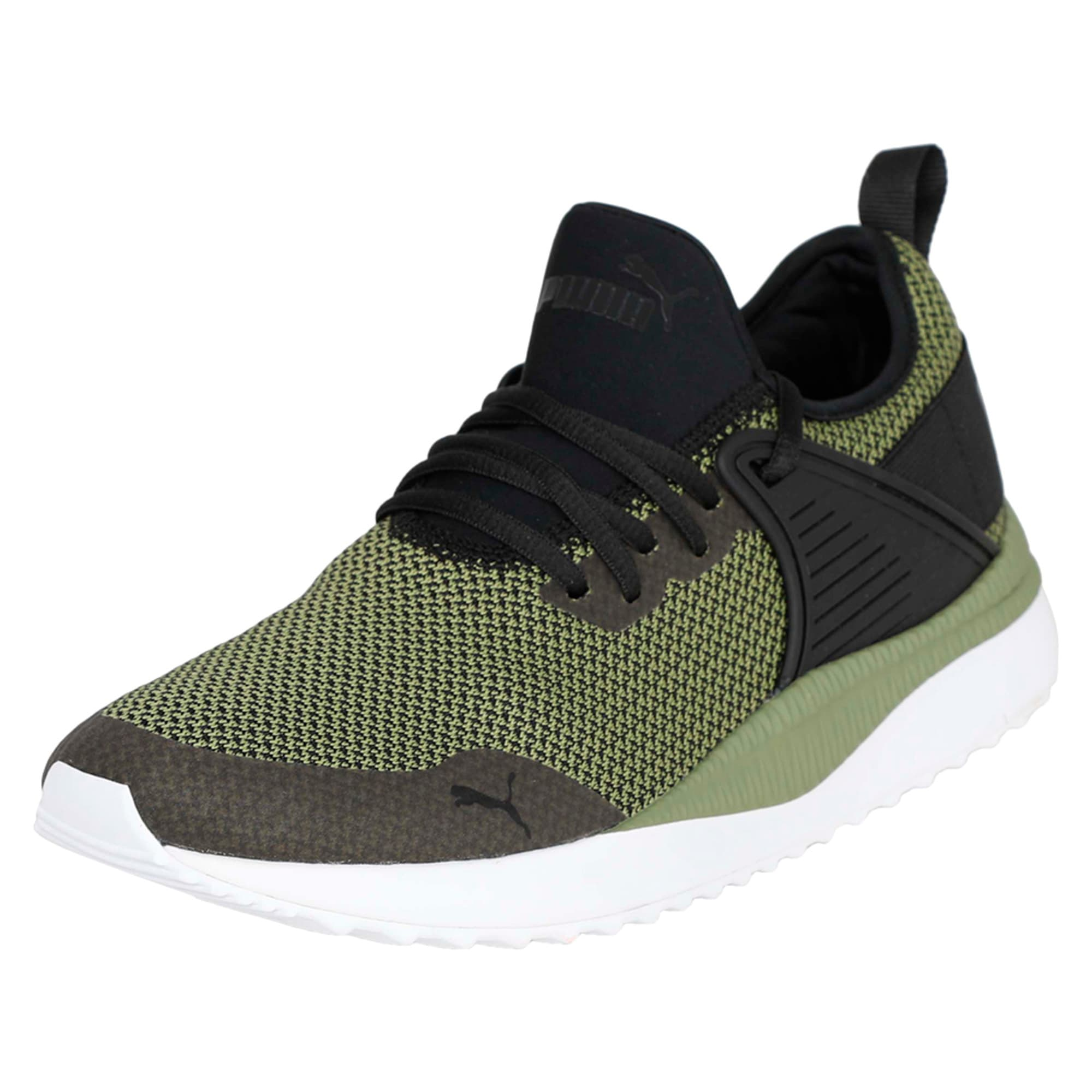Thumbnail 1 of Pacer Next Cage GK Trainers, Puma Black-Capulet Olive, medium-IND