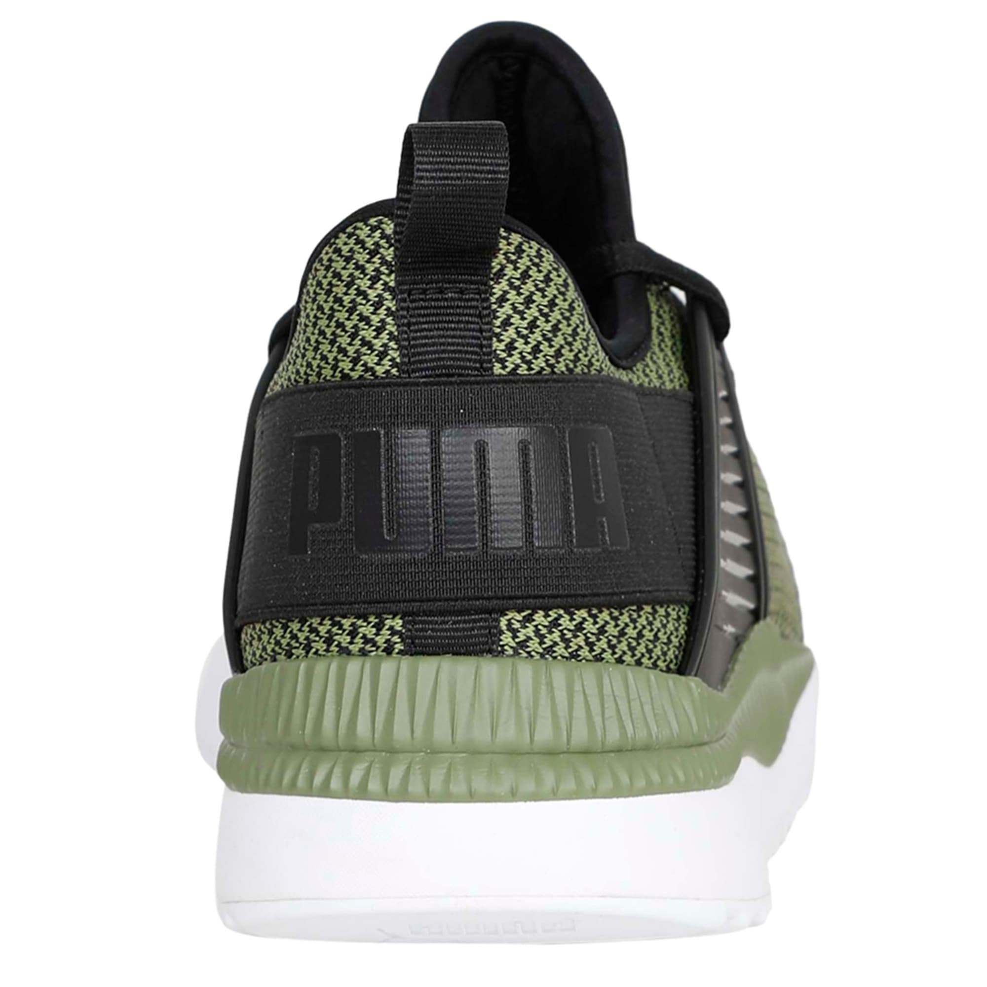 Thumbnail 4 of Pacer Next Cage GK Trainers, Puma Black-Capulet Olive, medium-IND