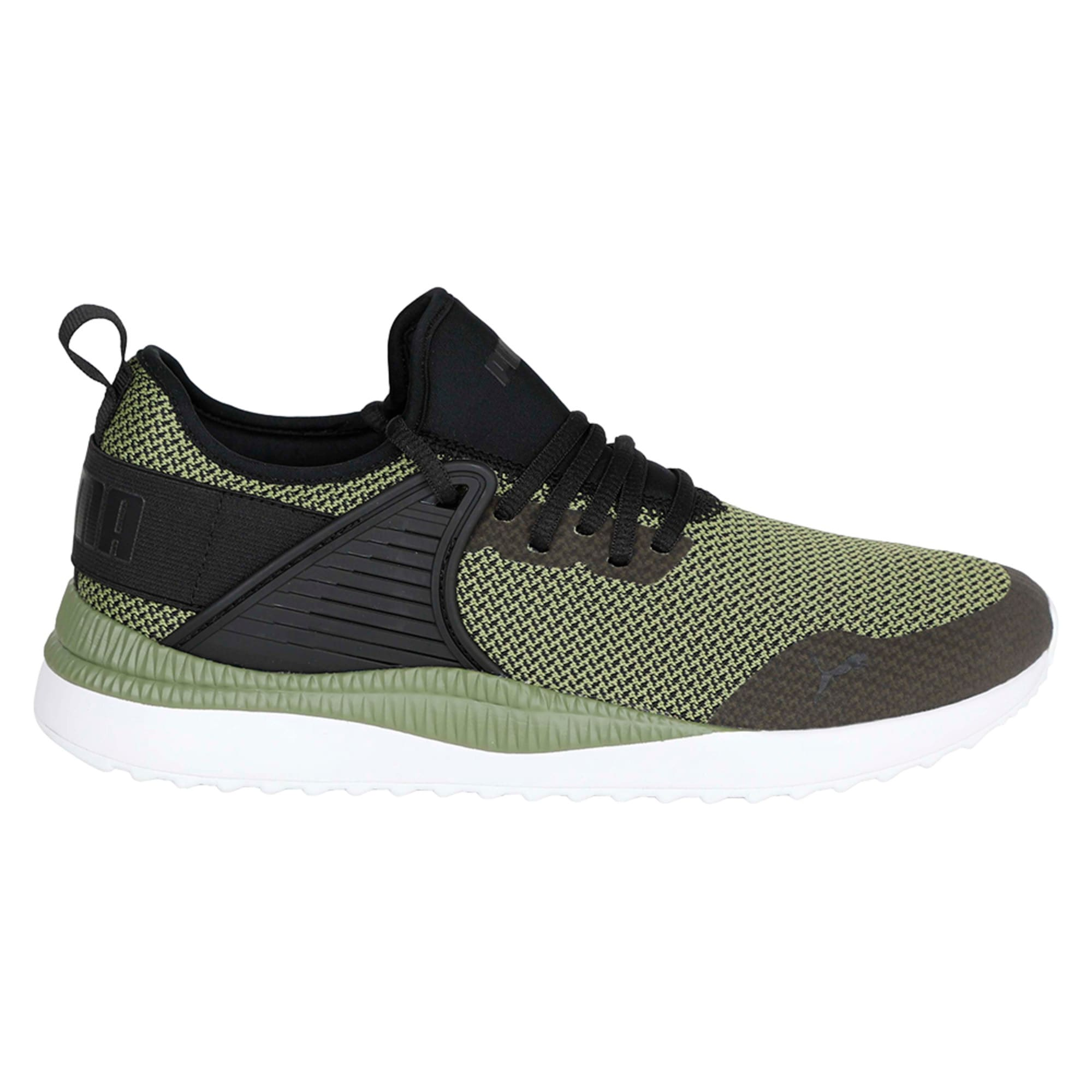Thumbnail 5 of Pacer Next Cage GK Trainers, Puma Black-Capulet Olive, medium-IND