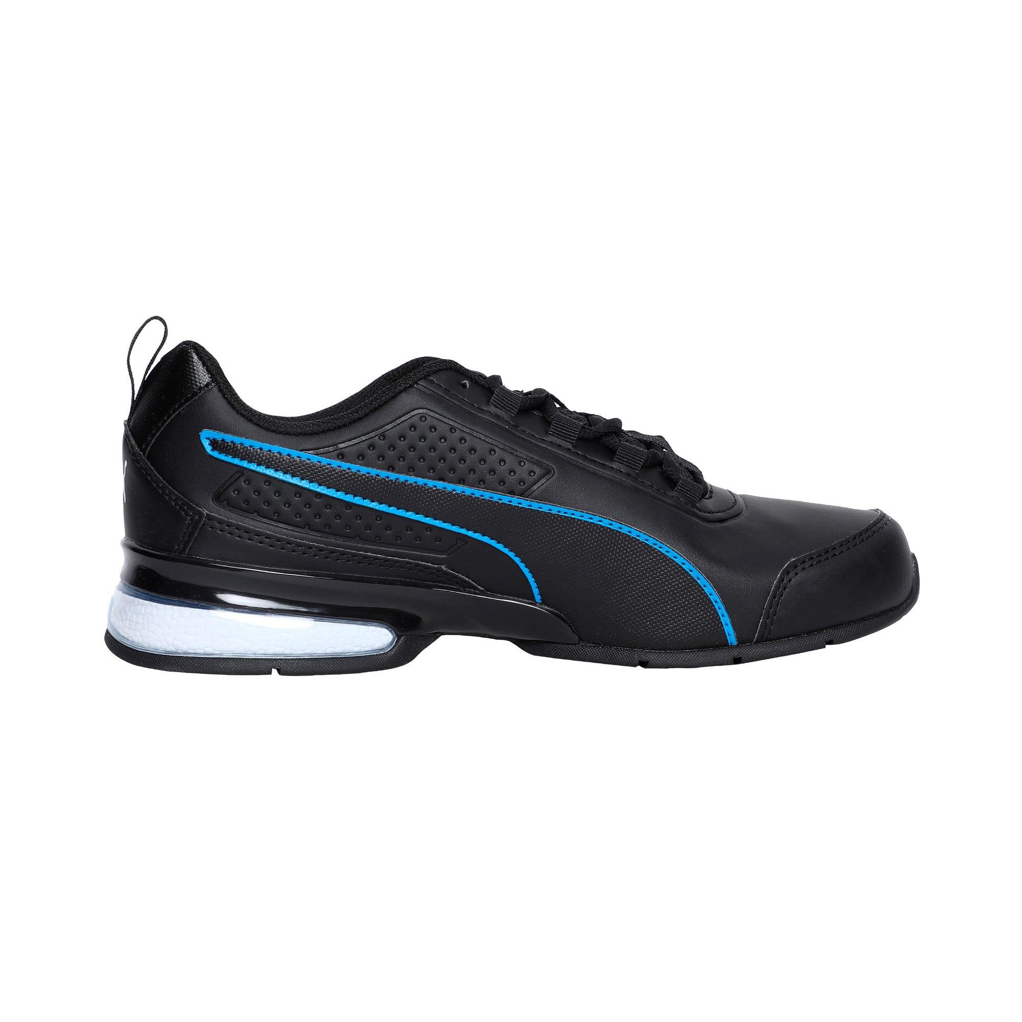 Thumbnail 4 of Leader VT SL Running Shoes, Black-White-Indigo Bunting, medium-IND