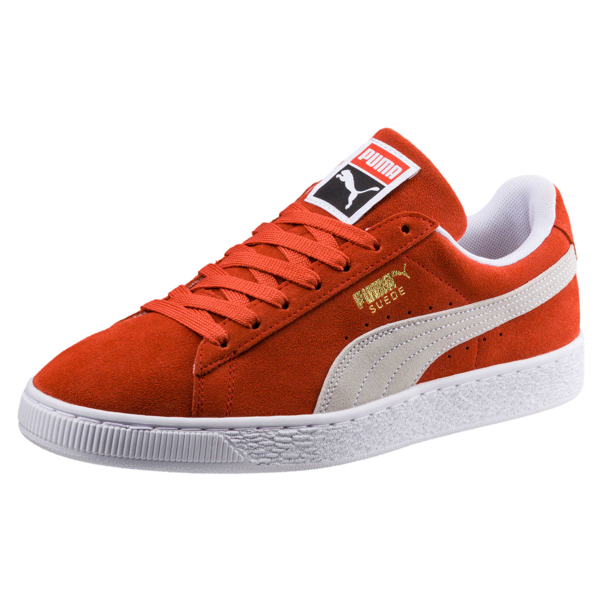 Thumbnail 1 of Suede Classic Trainers, Burnt Ochre-Puma White, medium-IND