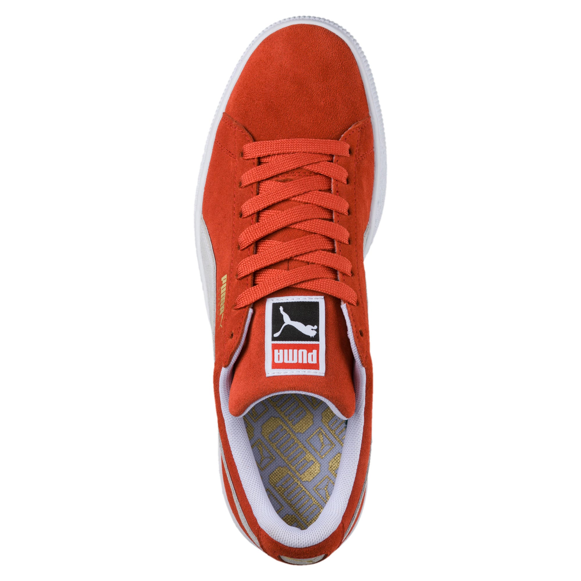 Thumbnail 5 of Suede Classic Trainers, Burnt Ochre-Puma White, medium-IND