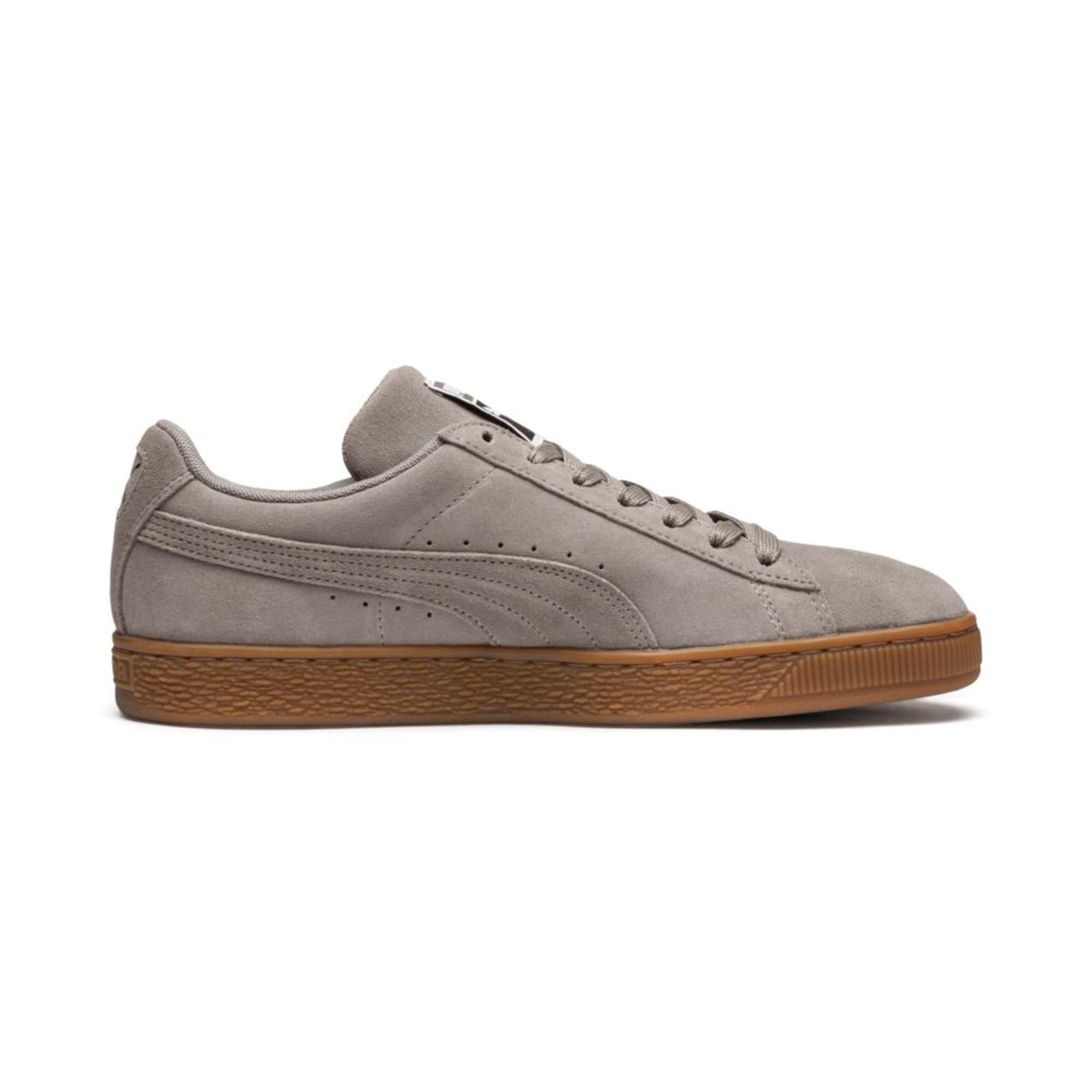 Thumbnail 5 of Suede Classic Trainers, Elephant Skin- Team Gold, medium-IND