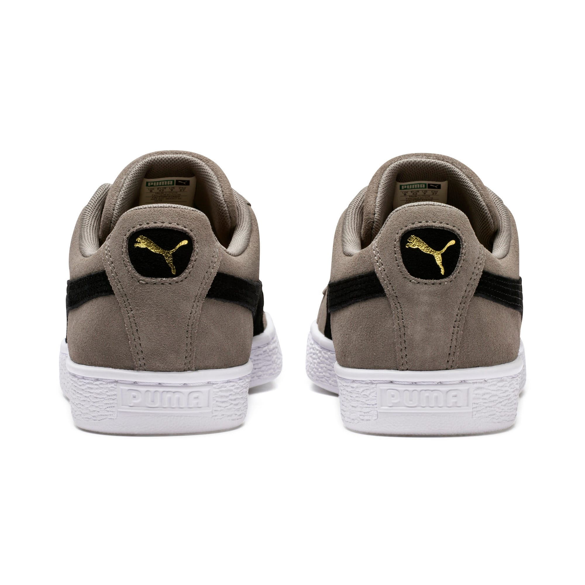 Thumbnail 3 of Suede Classic Trainers, Charcoal Gray-Puma Black, medium