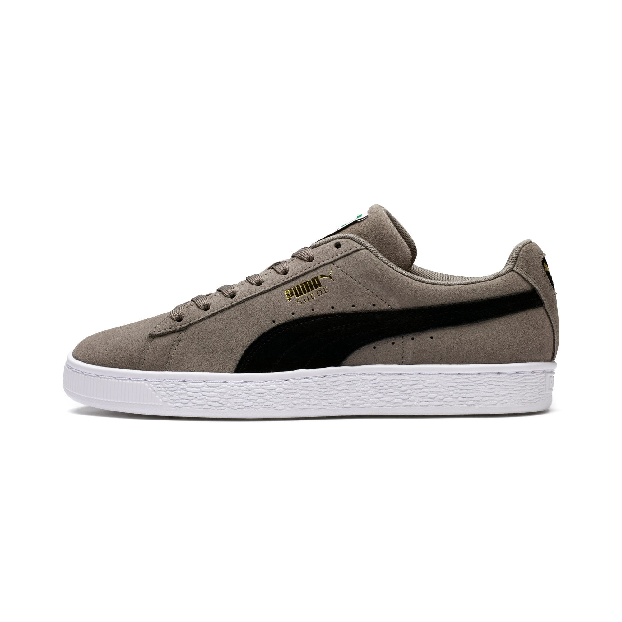 Thumbnail 1 of Suede Classic Trainers, Charcoal Gray-Puma Black, medium