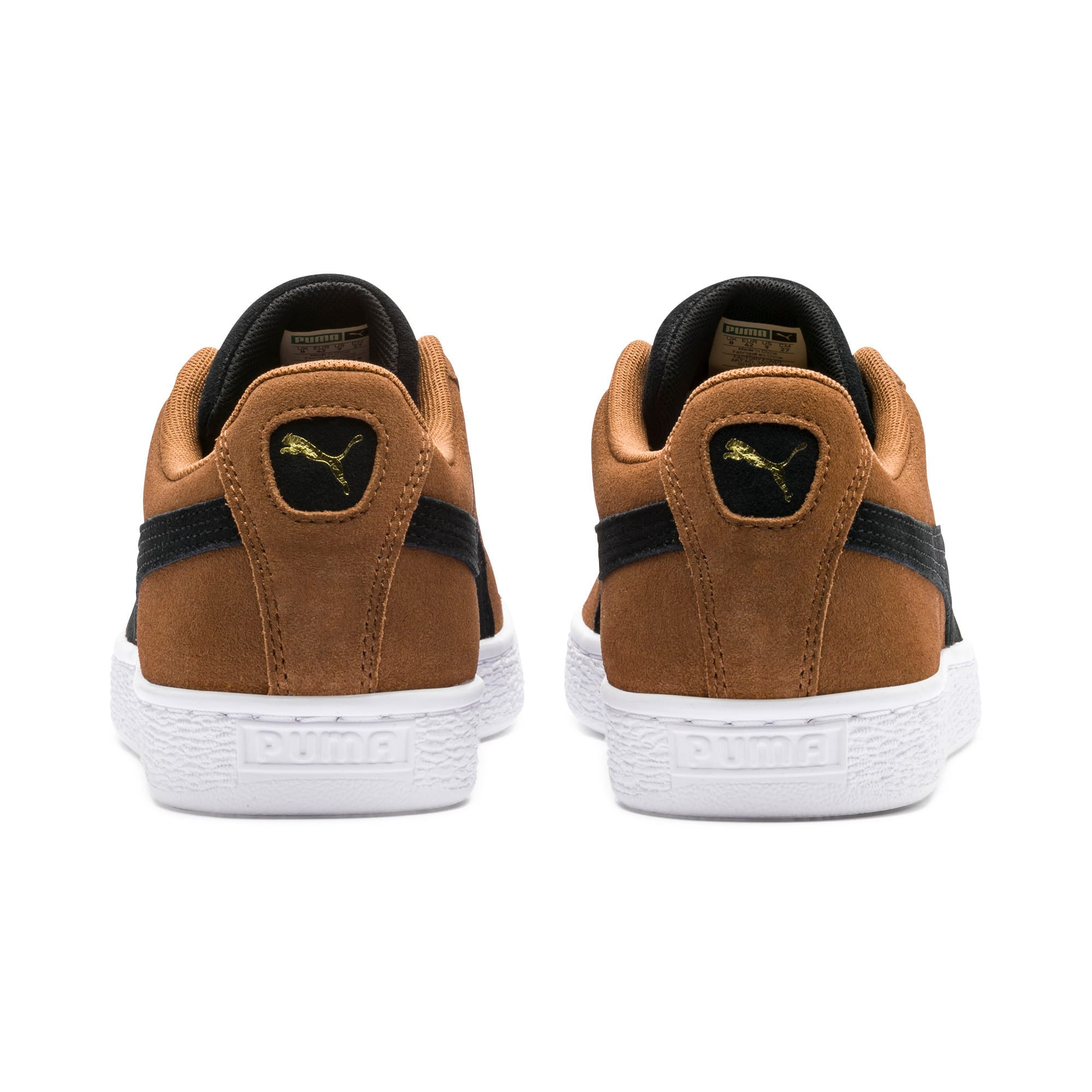 Thumbnail 4 of Suede Classic Sneakers, Dachsund-Puma Black-P Wht, medium