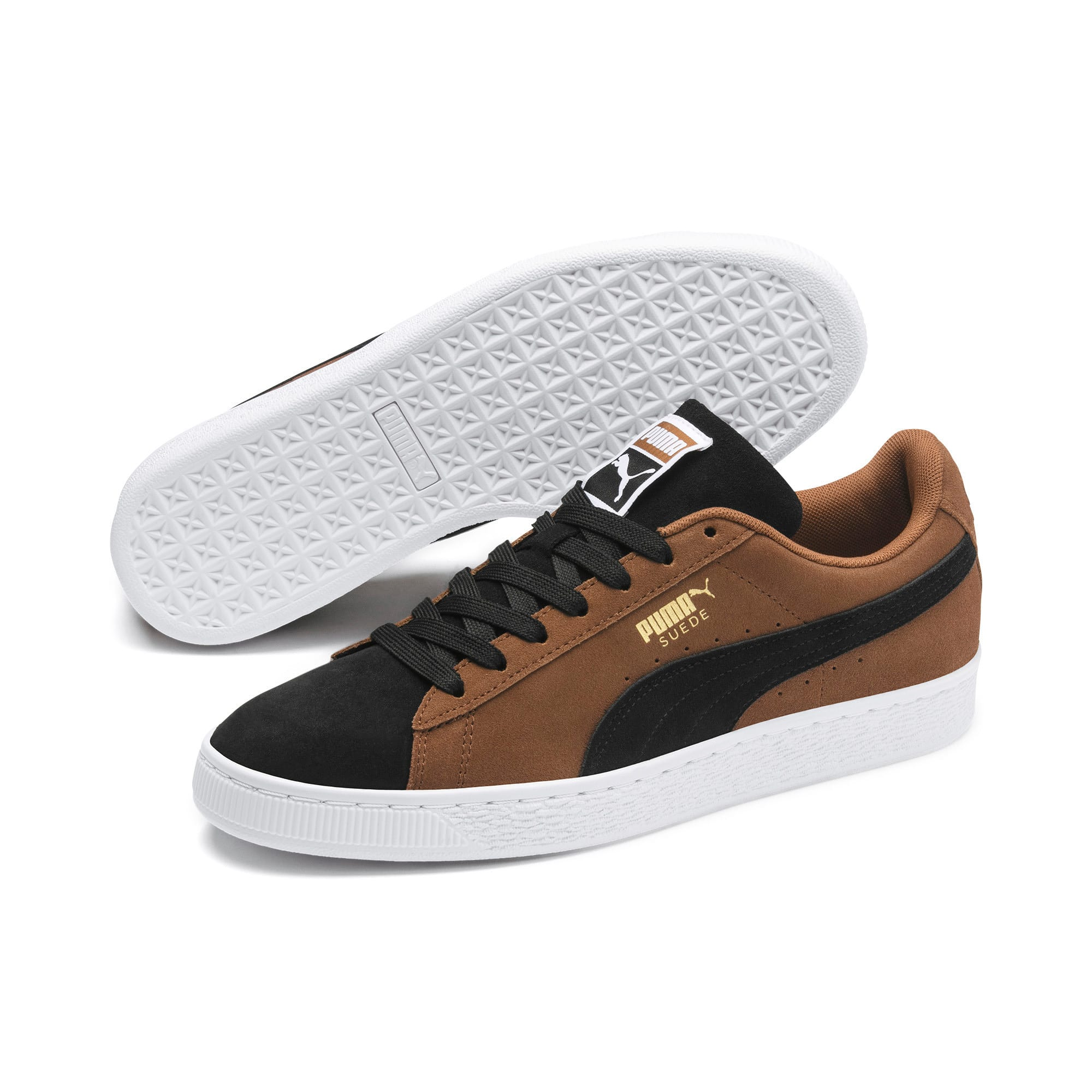 Thumbnail 3 of Suede Classic Sneakers, Dachsund-Puma Black-P Wht, medium