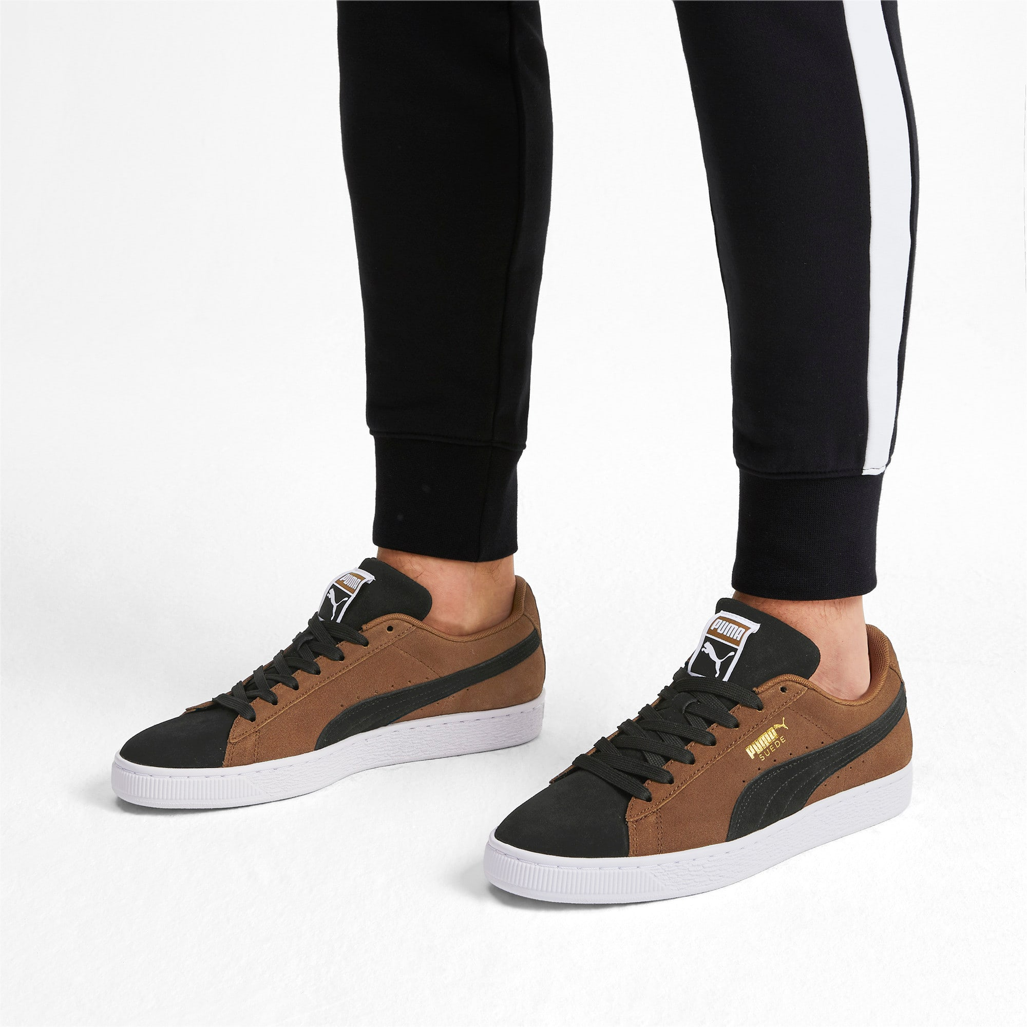Thumbnail 2 of Suede Classic Sneakers, Dachsund-Puma Black-P Wht, medium