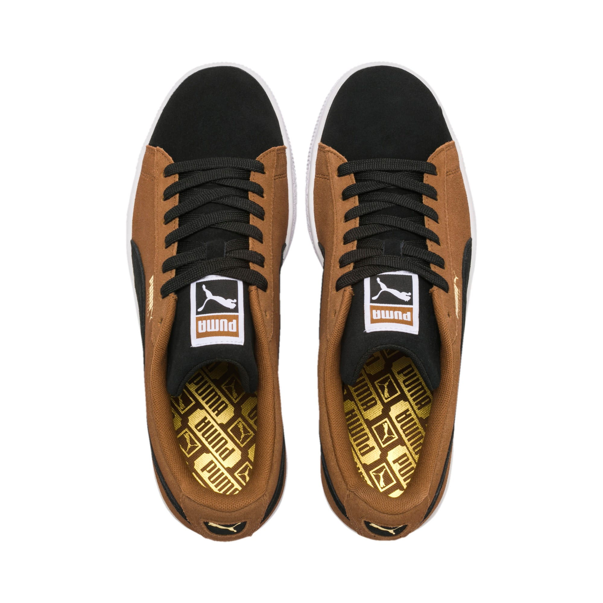Suede Classic Trainers, Dachsund-Puma Black-P Wht, large