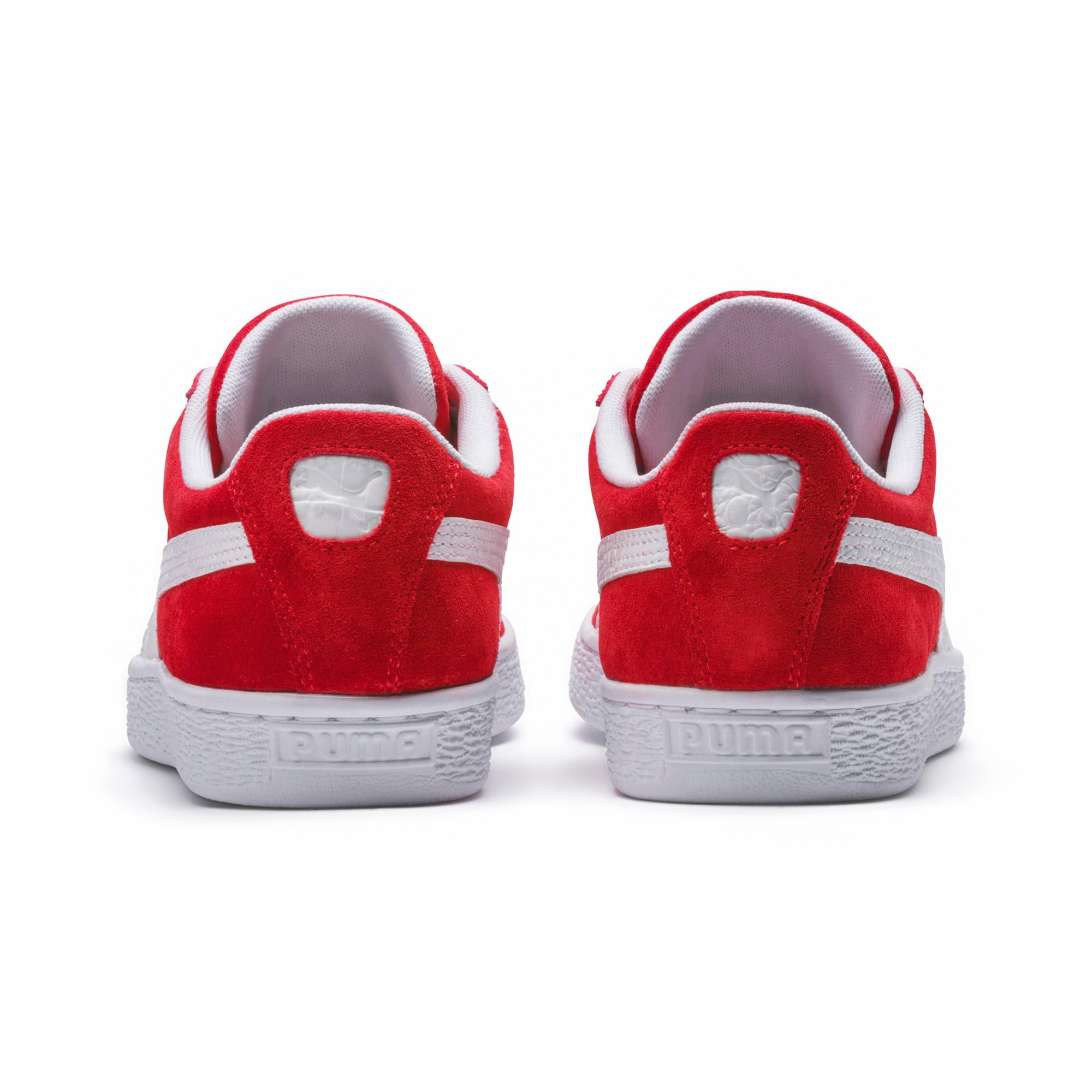 Thumbnail 4 of Suede Classic B-BOY Fabulous Trainers, Flame Scarlet-Puma White, medium-IND