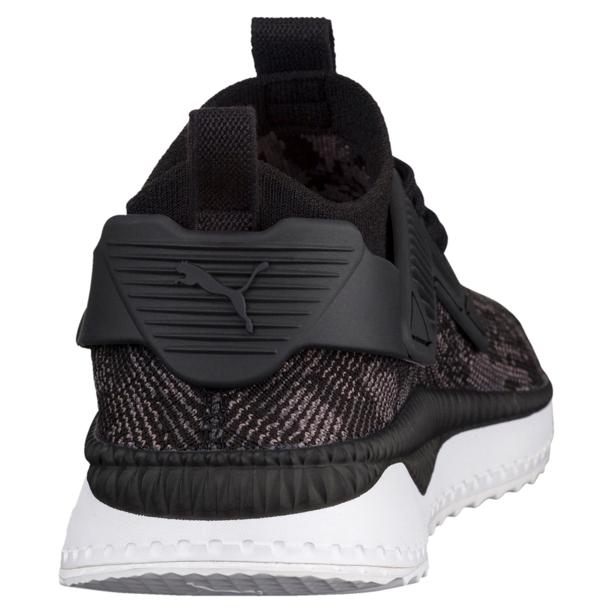 Thumbnail 3 of TSUGI Cage evoKNIT WF Trainers, Puma Black-Puma White-, medium-IND