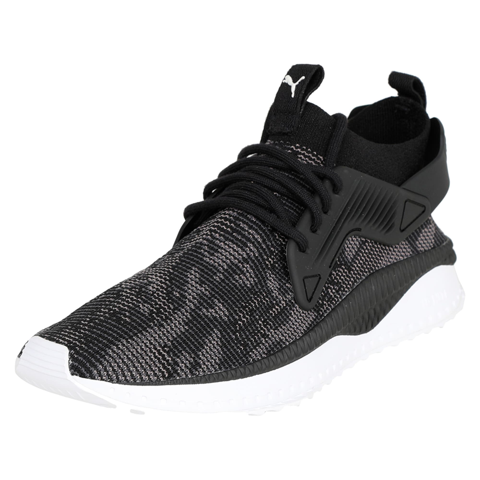 Thumbnail 1 of TSUGI Cage evoKNIT WF Trainers, Puma Black-Puma White-, medium-IND