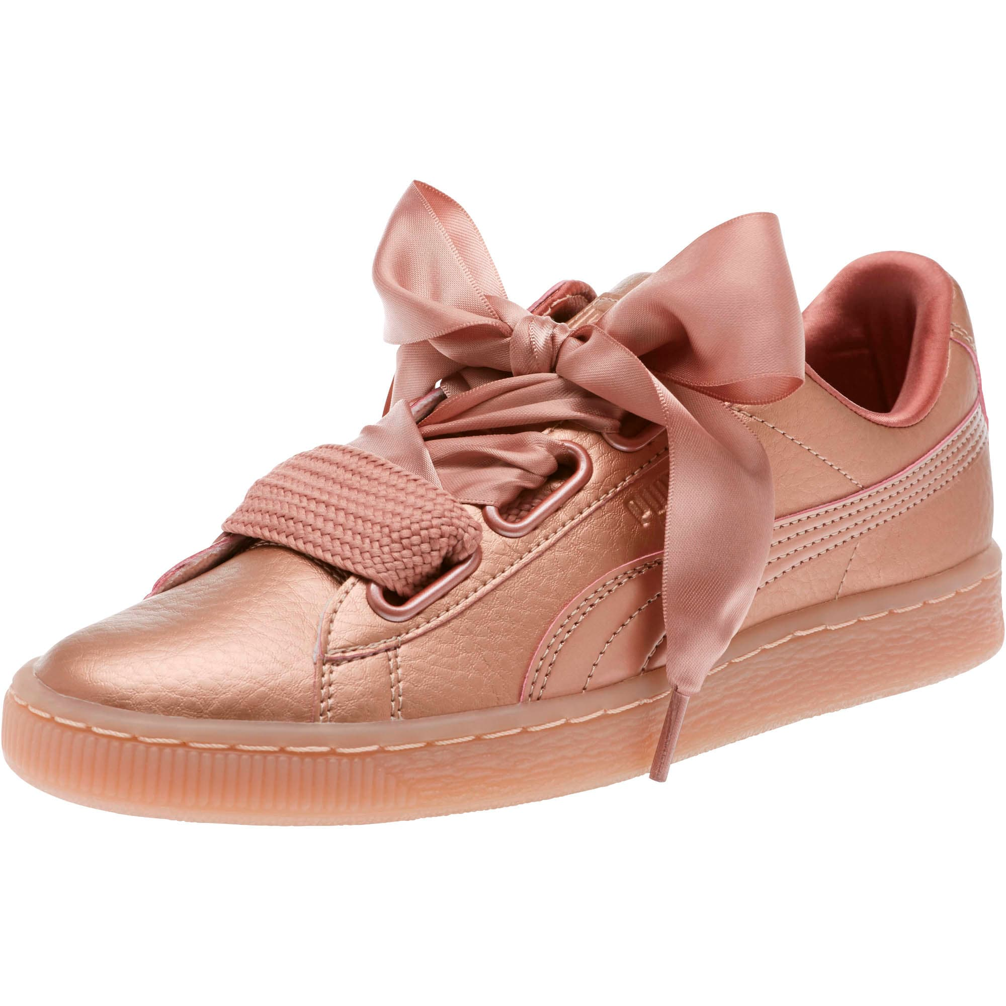 Sneakers Heart Copper Heart Copper Basket Women's Basket Women's XOPZikuT