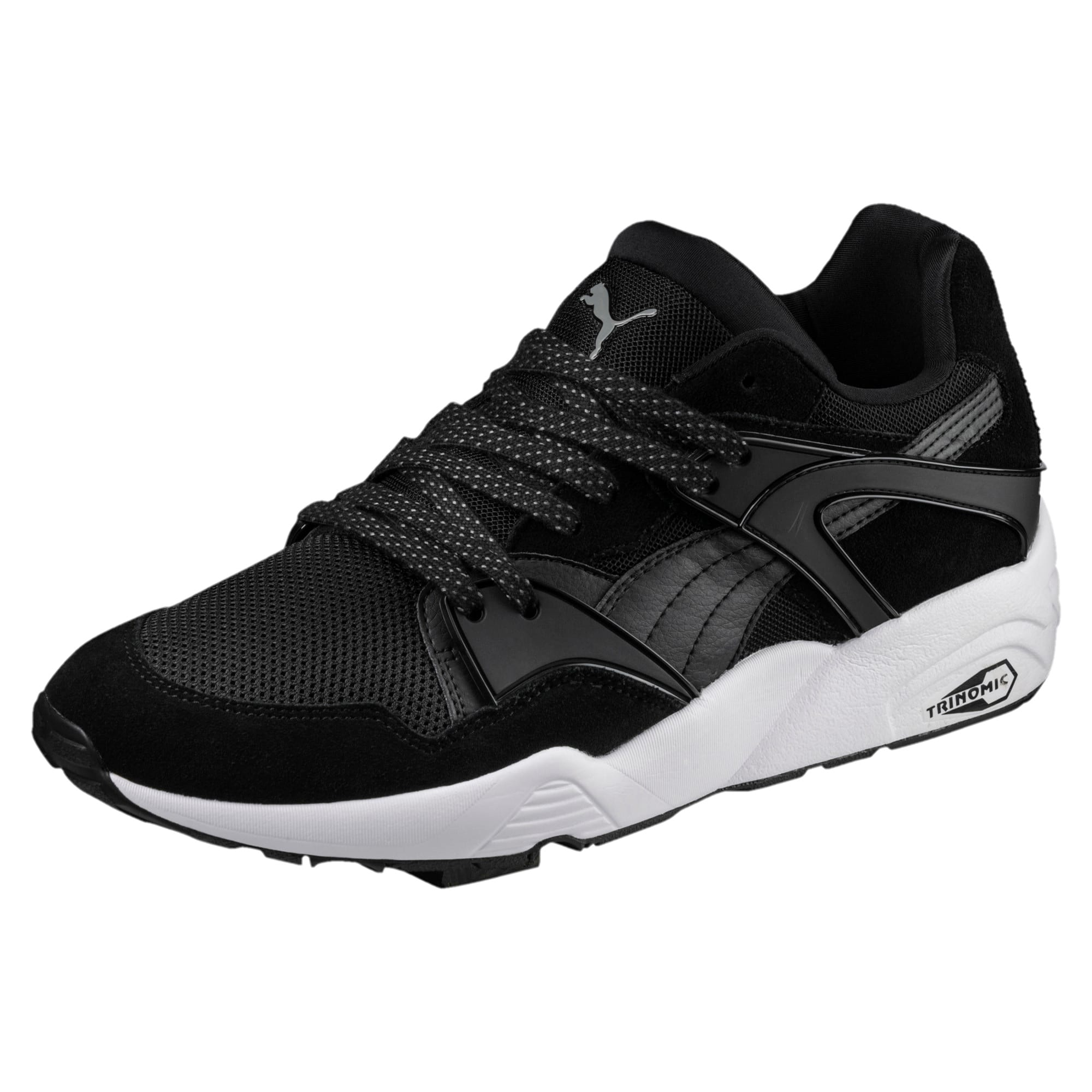 Blaze Trainers, Puma Black-White-QUIET SHADE, large-IND