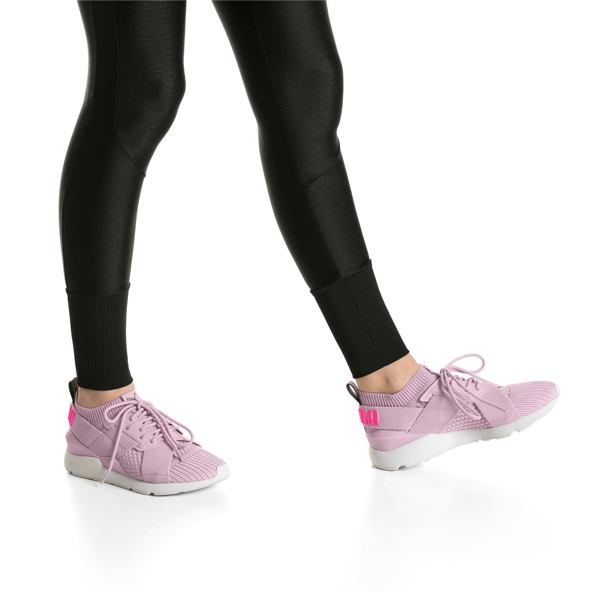 Thumbnail 7 of Muse evoKNIT Women's Trainers, Winsome Orchid, medium-IND