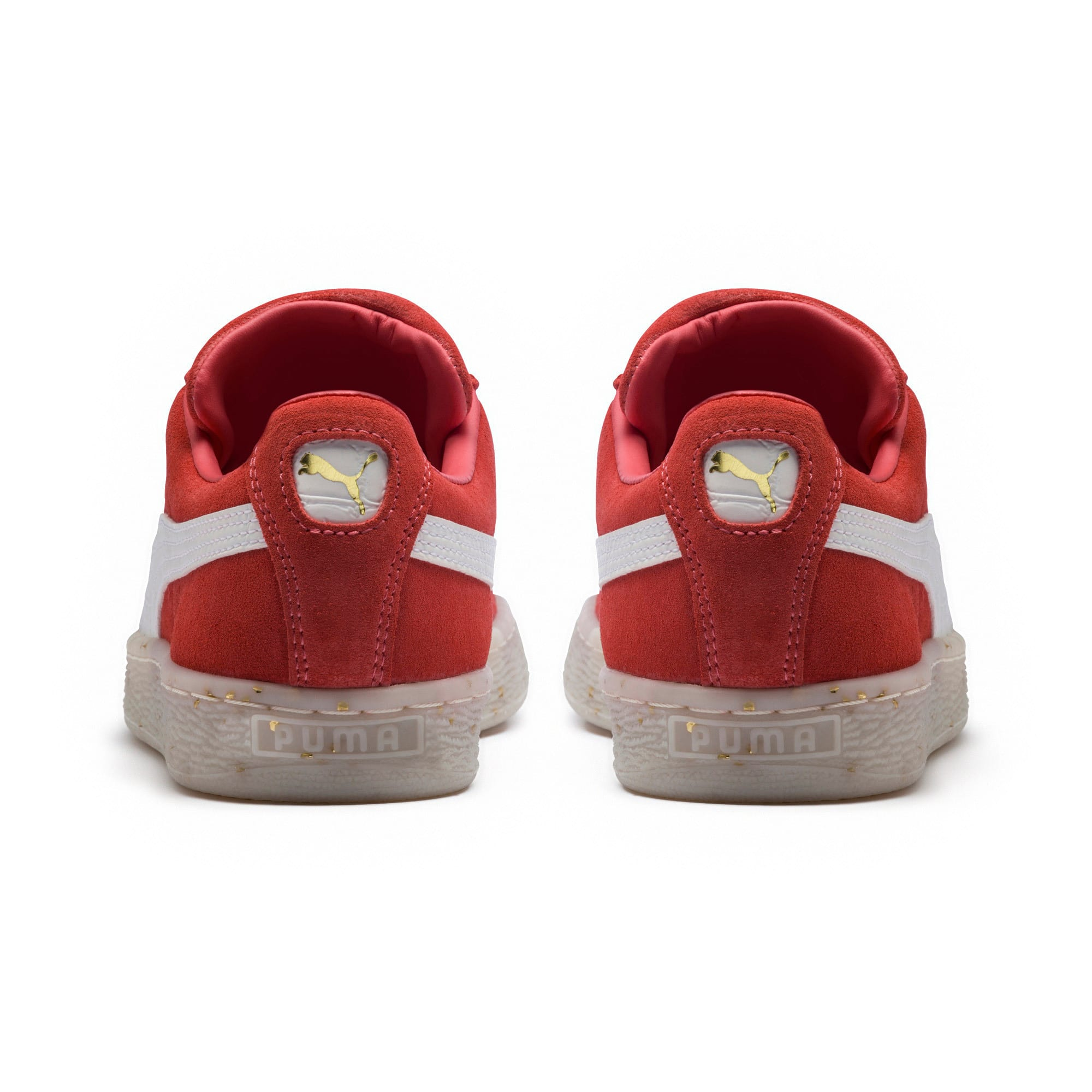 Thumbnail 4 of Suede Classic B-BOY Fabulous Women's Trainers, SpicedCoral-White-Red Dahlia, medium-IND