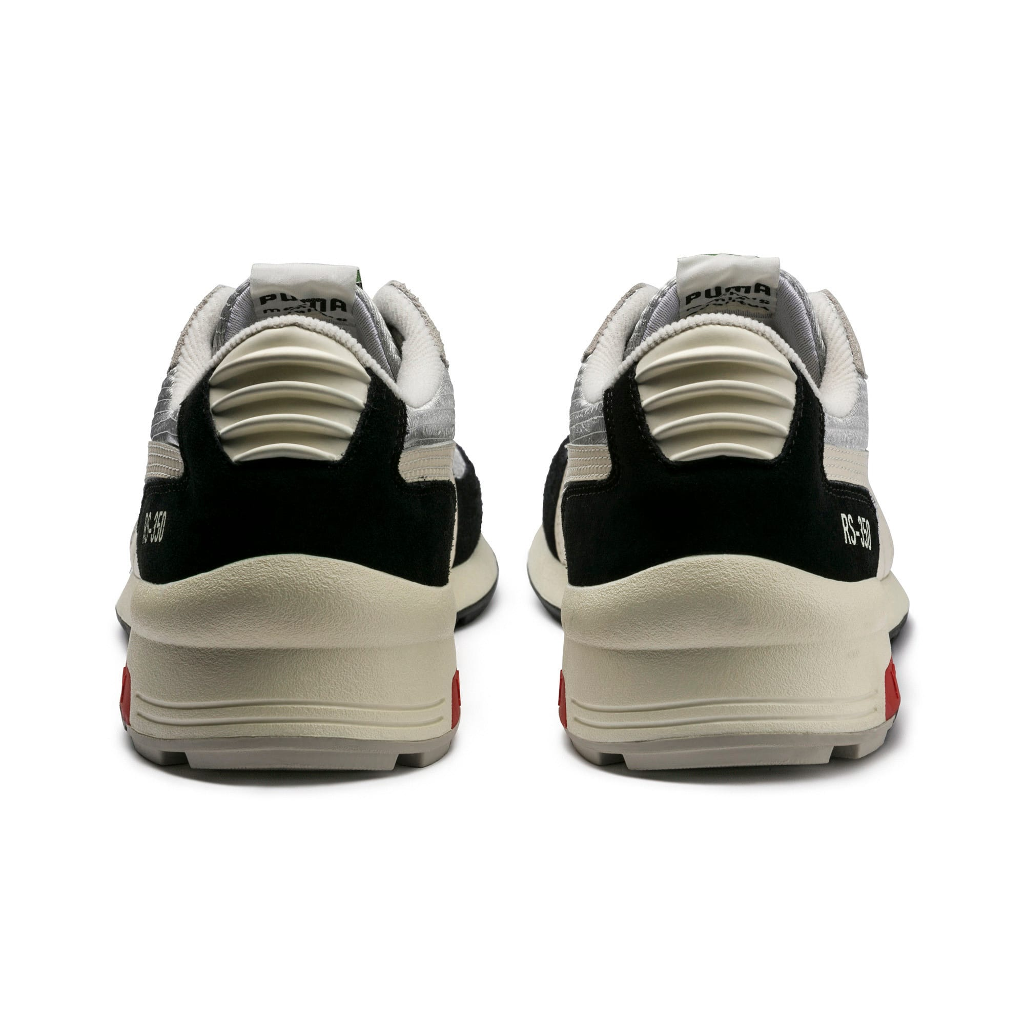 Thumbnail 3 of RS-350 Trainers, Black-GrayViolet-WhisperWht, medium-IND