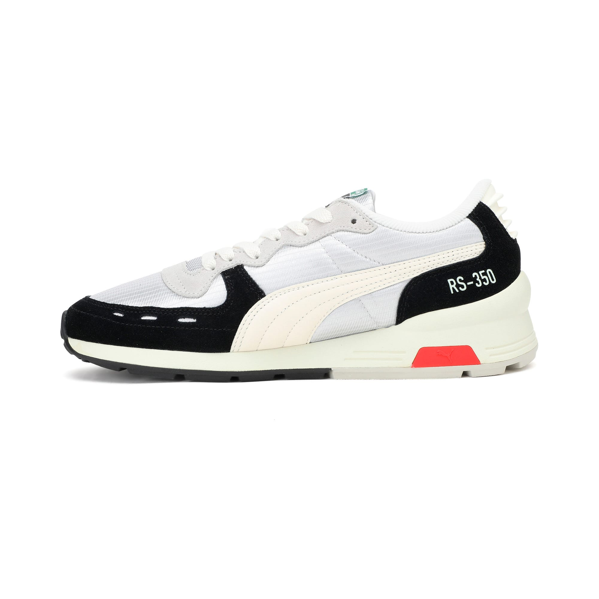 Thumbnail 1 of RS-350 Trainers, Black-GrayViolet-WhisperWht, medium-IND