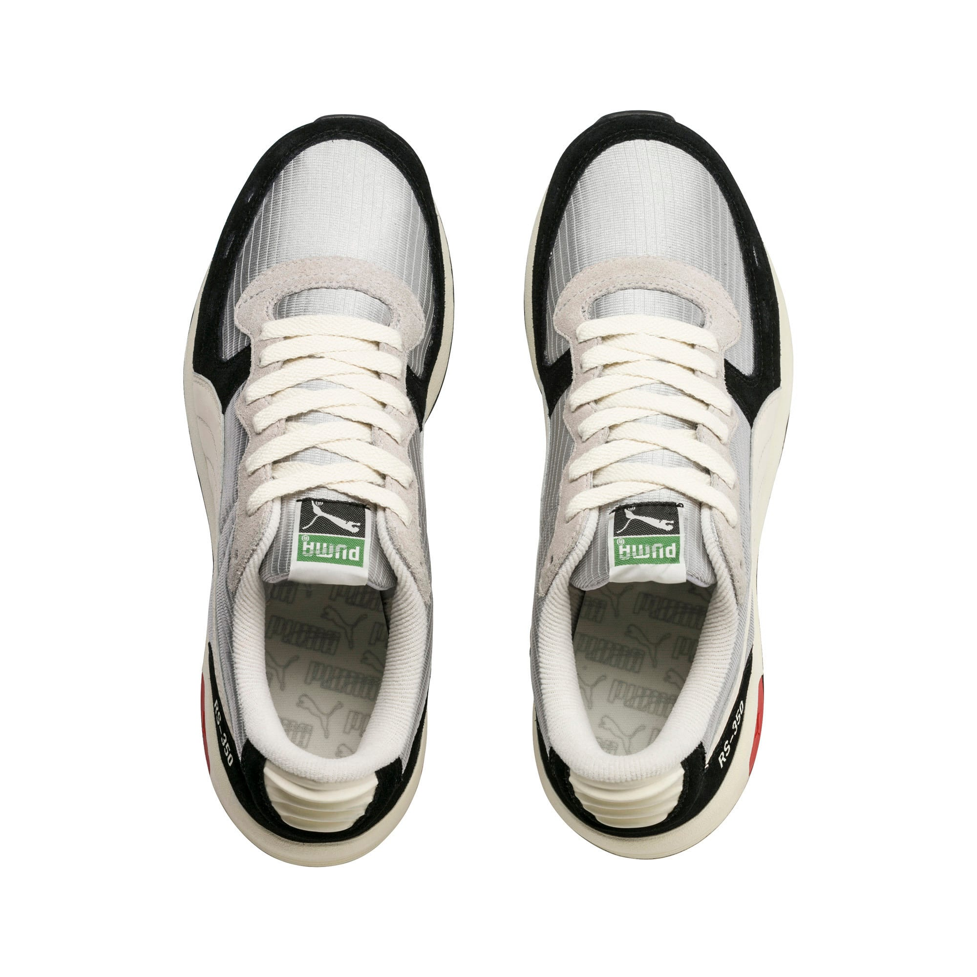 Thumbnail 5 of RS-350 Trainers, Black-GrayViolet-WhisperWht, medium-IND