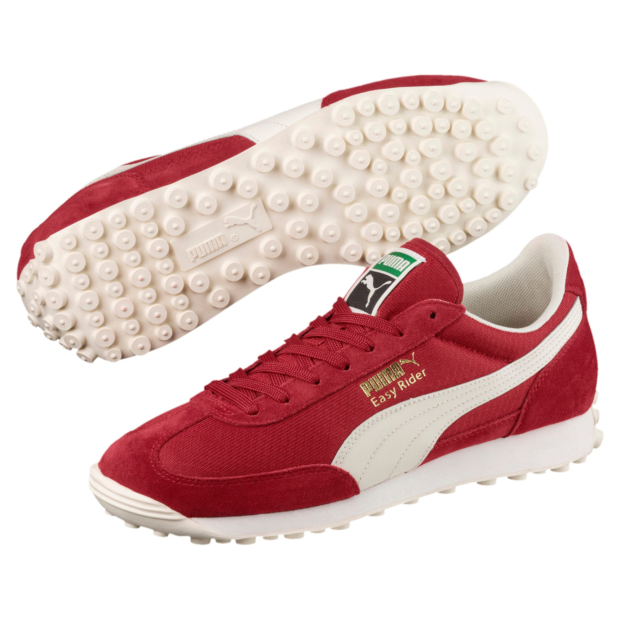 Thumbnail 2 of Easy Rider Classic Trainers, Red Dahlia-Whisp White-Gold, medium-IND