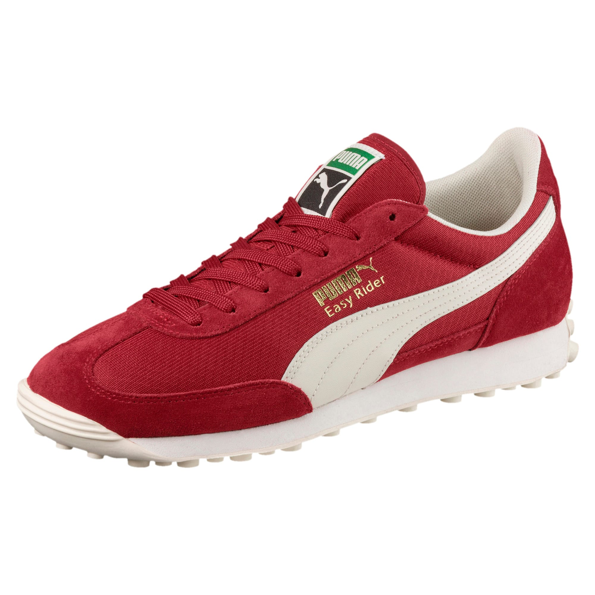 Thumbnail 1 of Easy Rider Classic Trainers, Red Dahlia-Whisp White-Gold, medium-IND