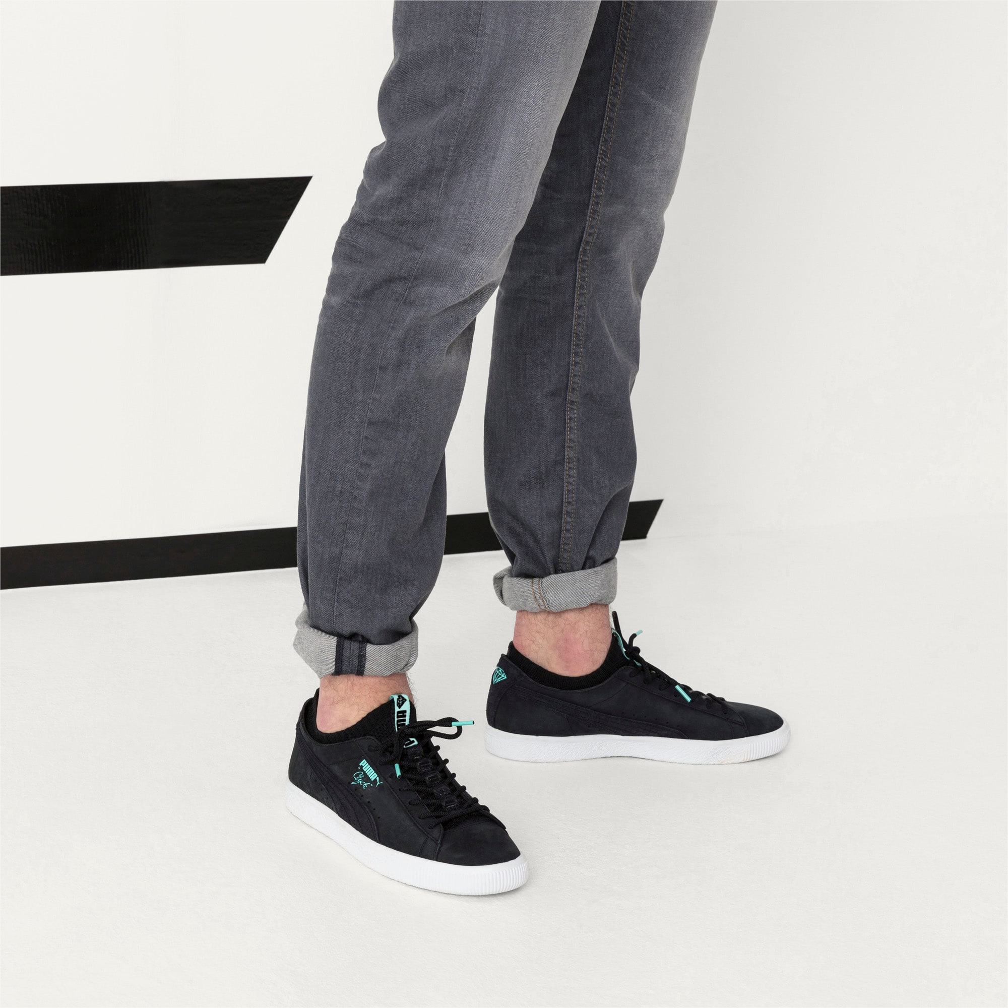 PUMA x DIAMOND Clyde Sock Lo Sneakers