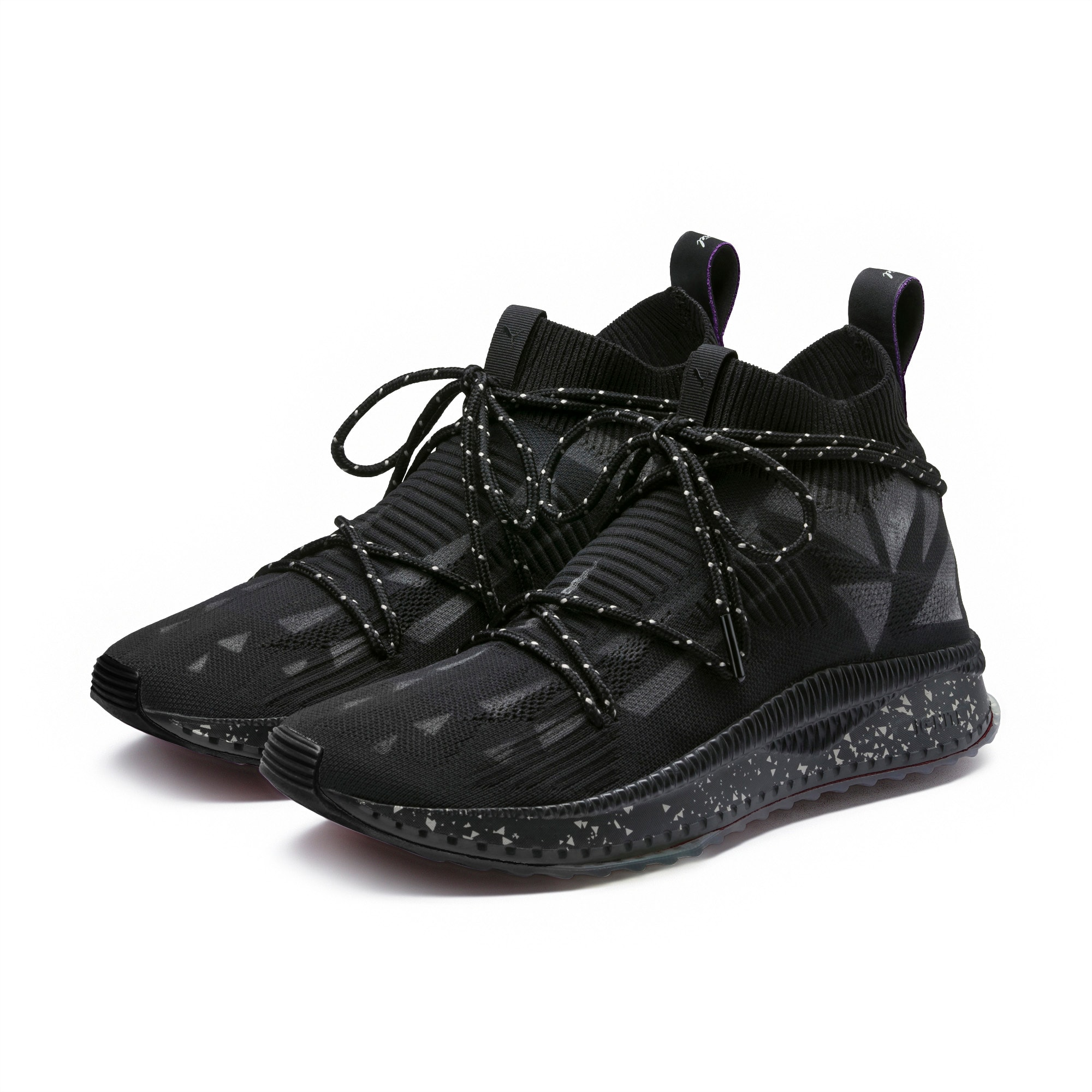 PUMA Mens Tsugi Evoknit Sock Naturel Ankle-High Fabric Fashion Sneaker