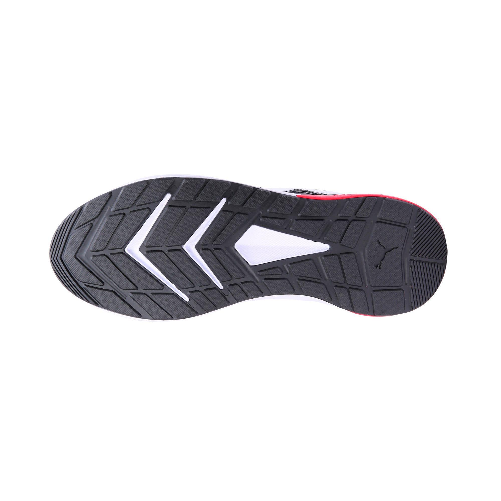 Thumbnail 4 of Escaper Tech Sneakers, P. Black-P. White-Fl.Scarlet, medium-IND