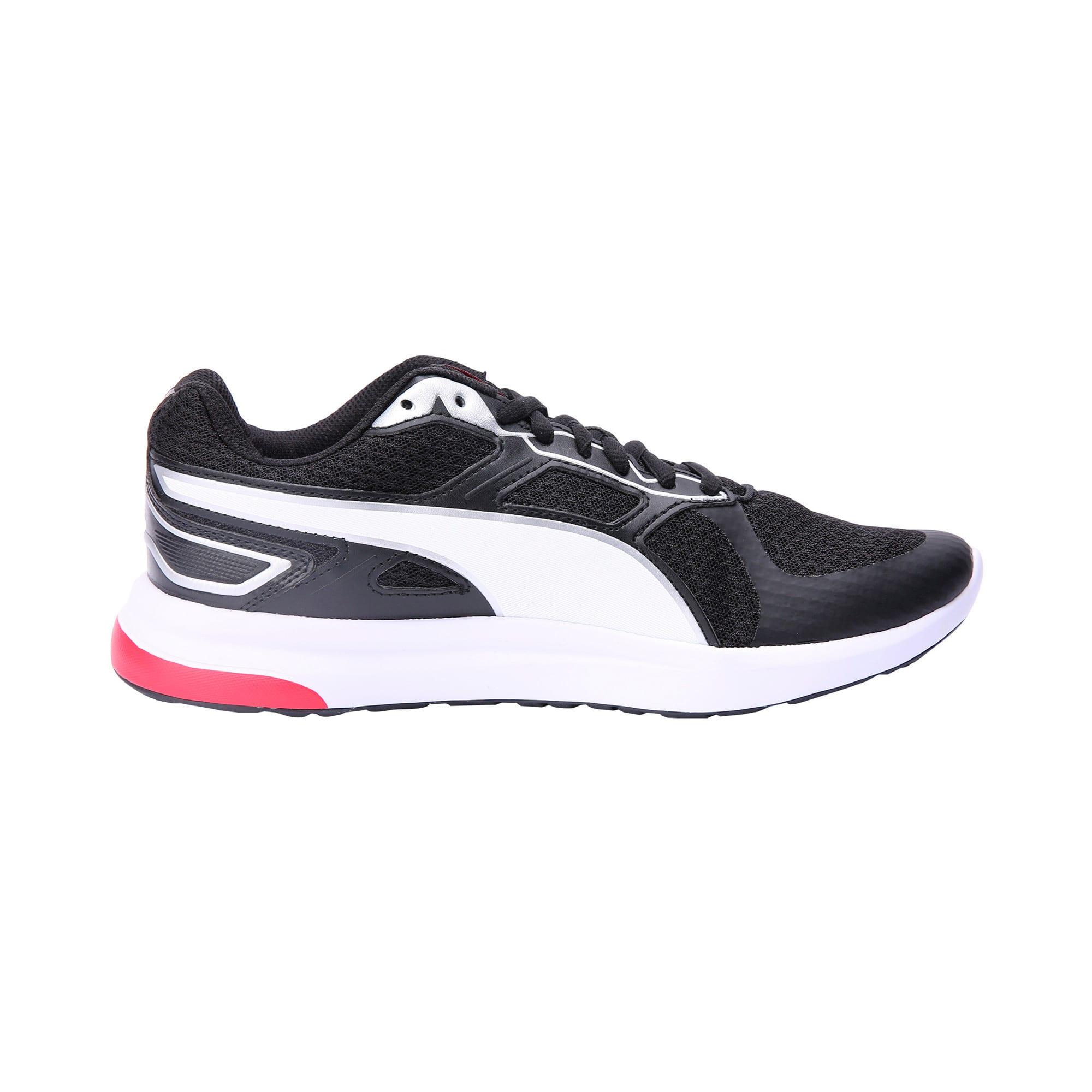 Thumbnail 5 of Escaper Tech Sneakers, P. Black-P. White-Fl.Scarlet, medium-IND
