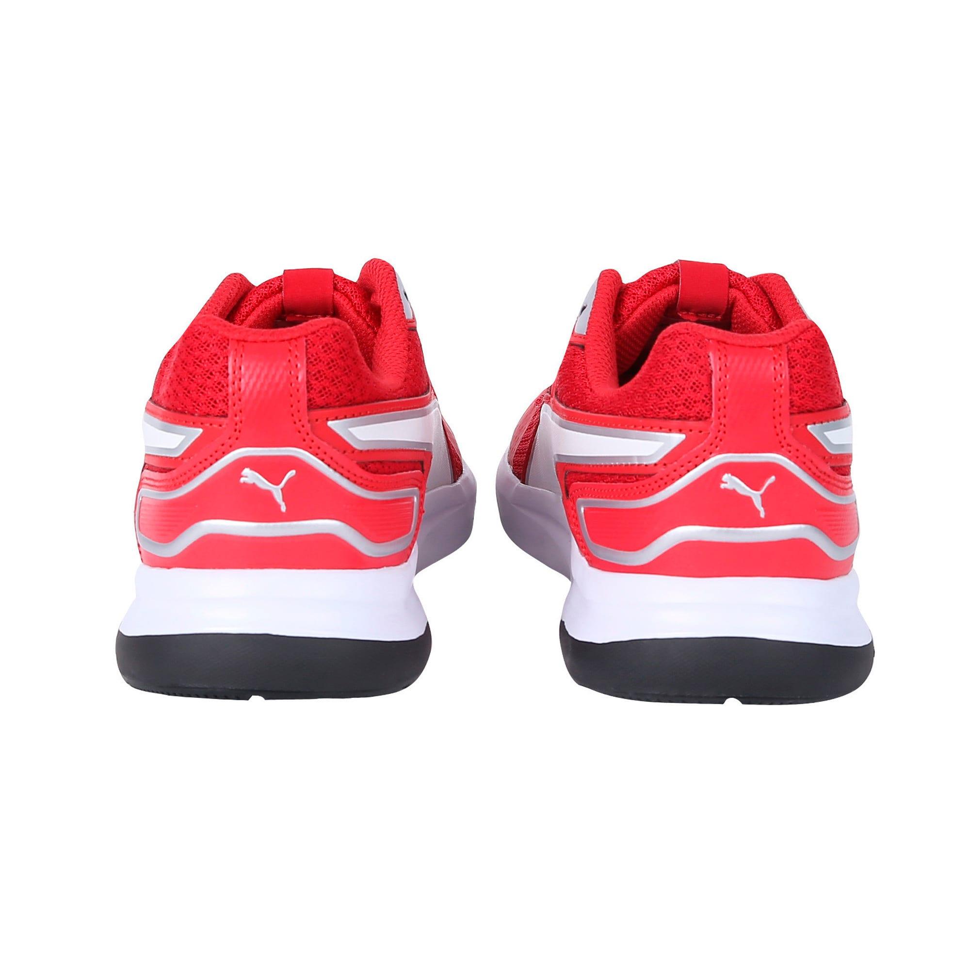 Thumbnail 3 of Escaper Tech Sneakers, Ribbon Red-Puma Wh-Puma Blk, medium-IND