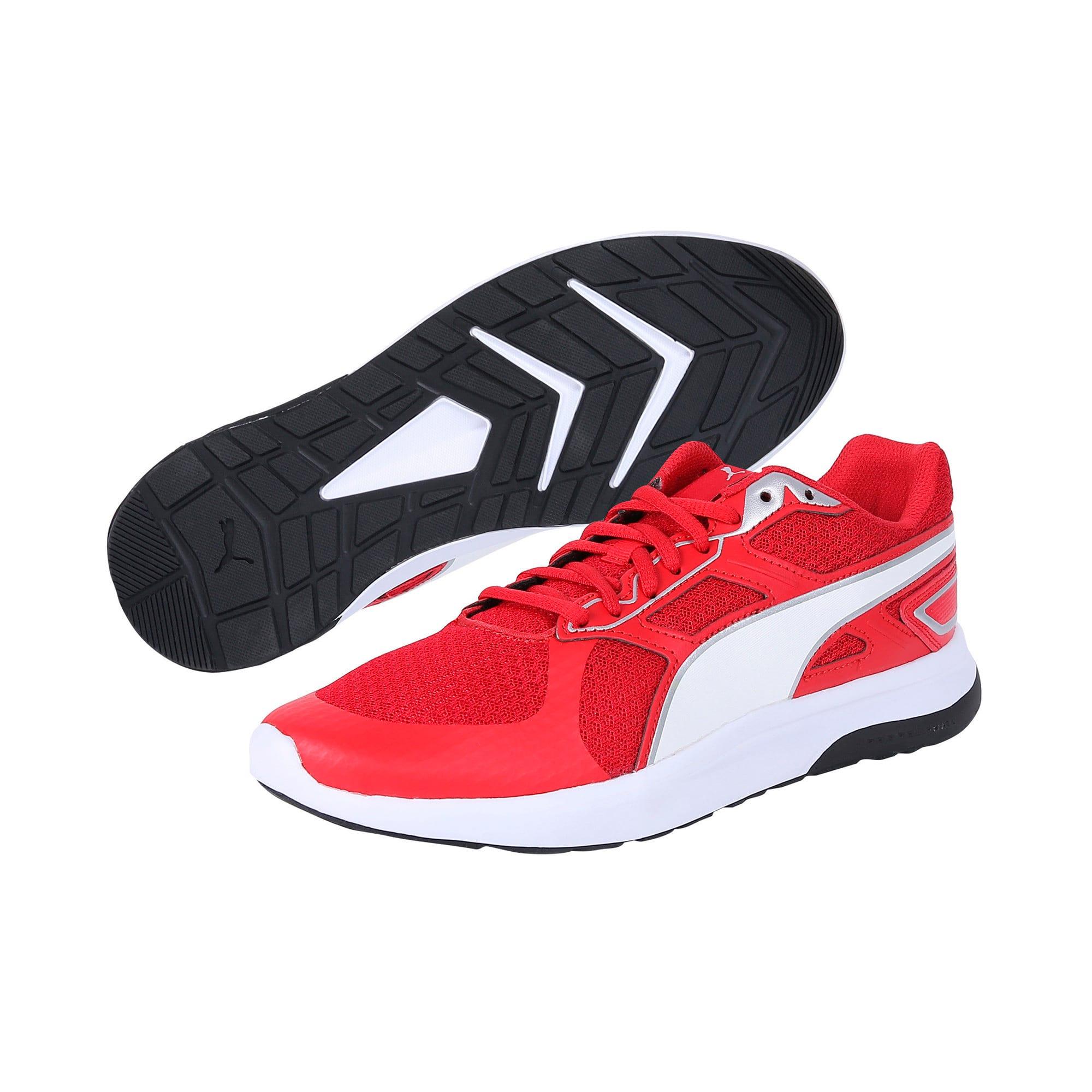 Thumbnail 2 of Escaper Tech Sneakers, Ribbon Red-Puma Wh-Puma Blk, medium-IND