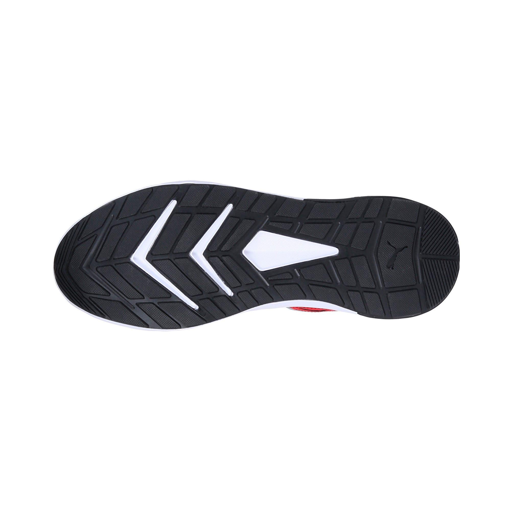 Thumbnail 4 of Escaper Tech Sneakers, Ribbon Red-Puma Wh-Puma Blk, medium-IND