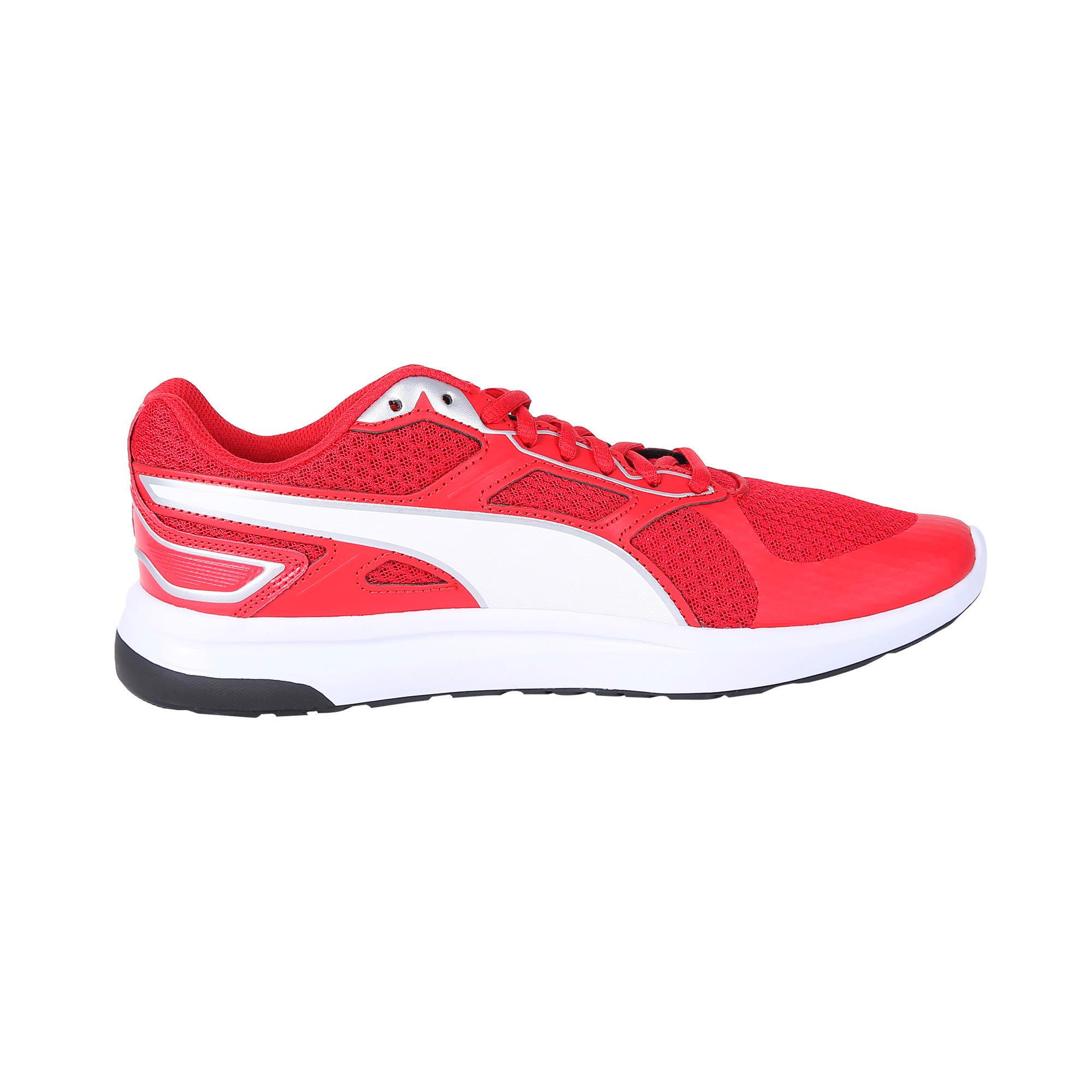 Thumbnail 5 of Escaper Tech Sneakers, Ribbon Red-Puma Wh-Puma Blk, medium-IND
