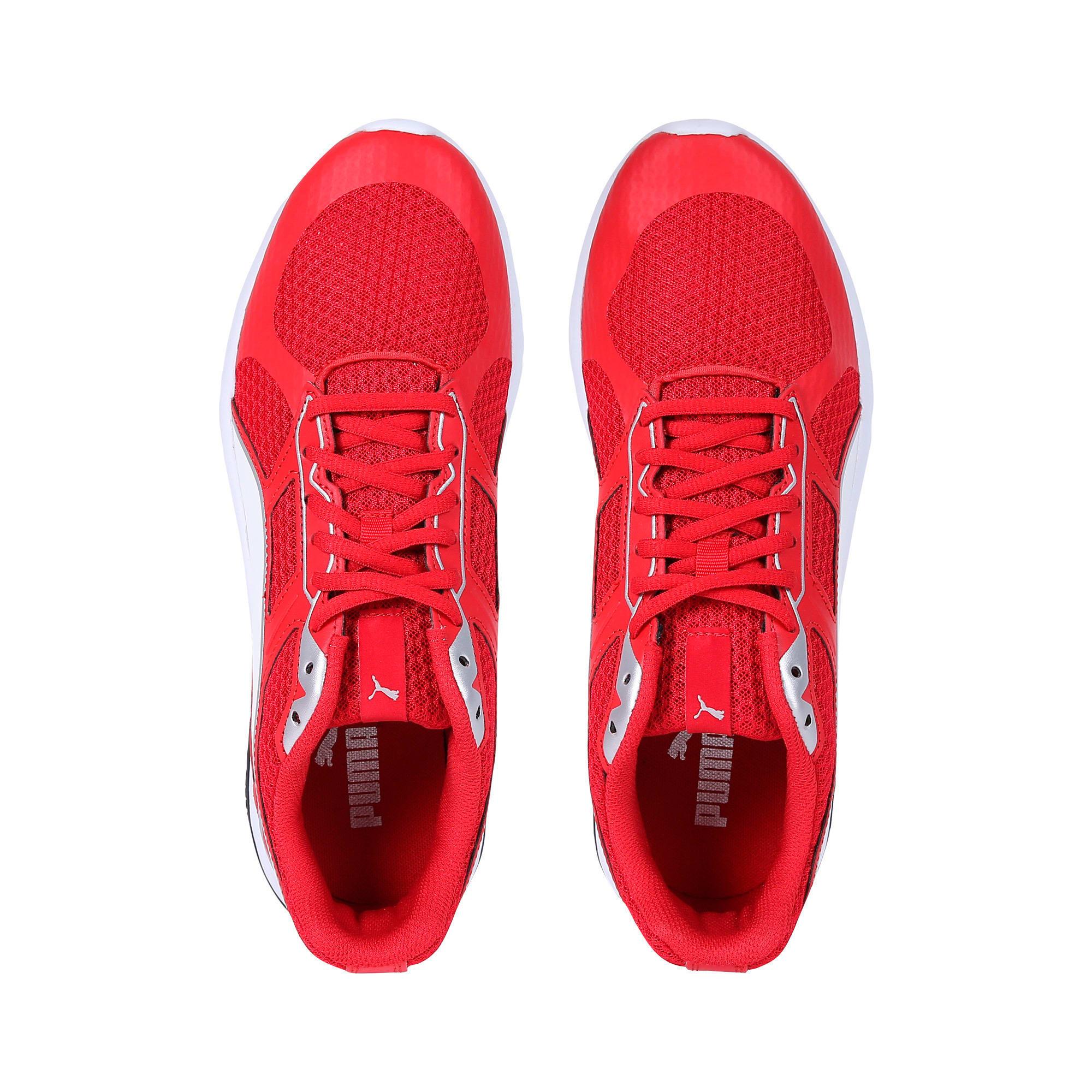 Thumbnail 6 of Escaper Tech Sneakers, Ribbon Red-Puma Wh-Puma Blk, medium-IND