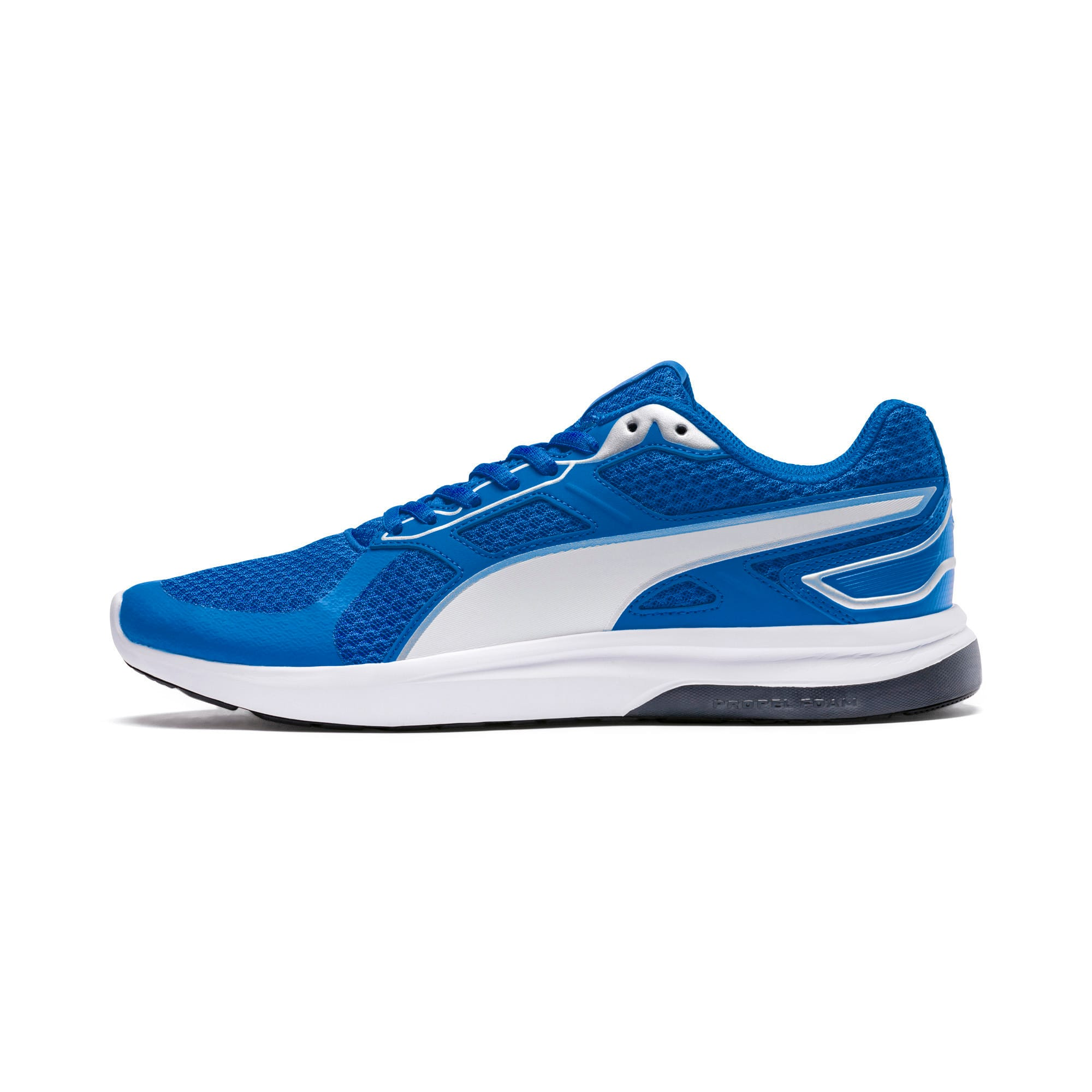 Thumbnail 1 of Escaper Tech Sneakers, Strong Bl-Puma Wh-Iron Gate, medium-IND