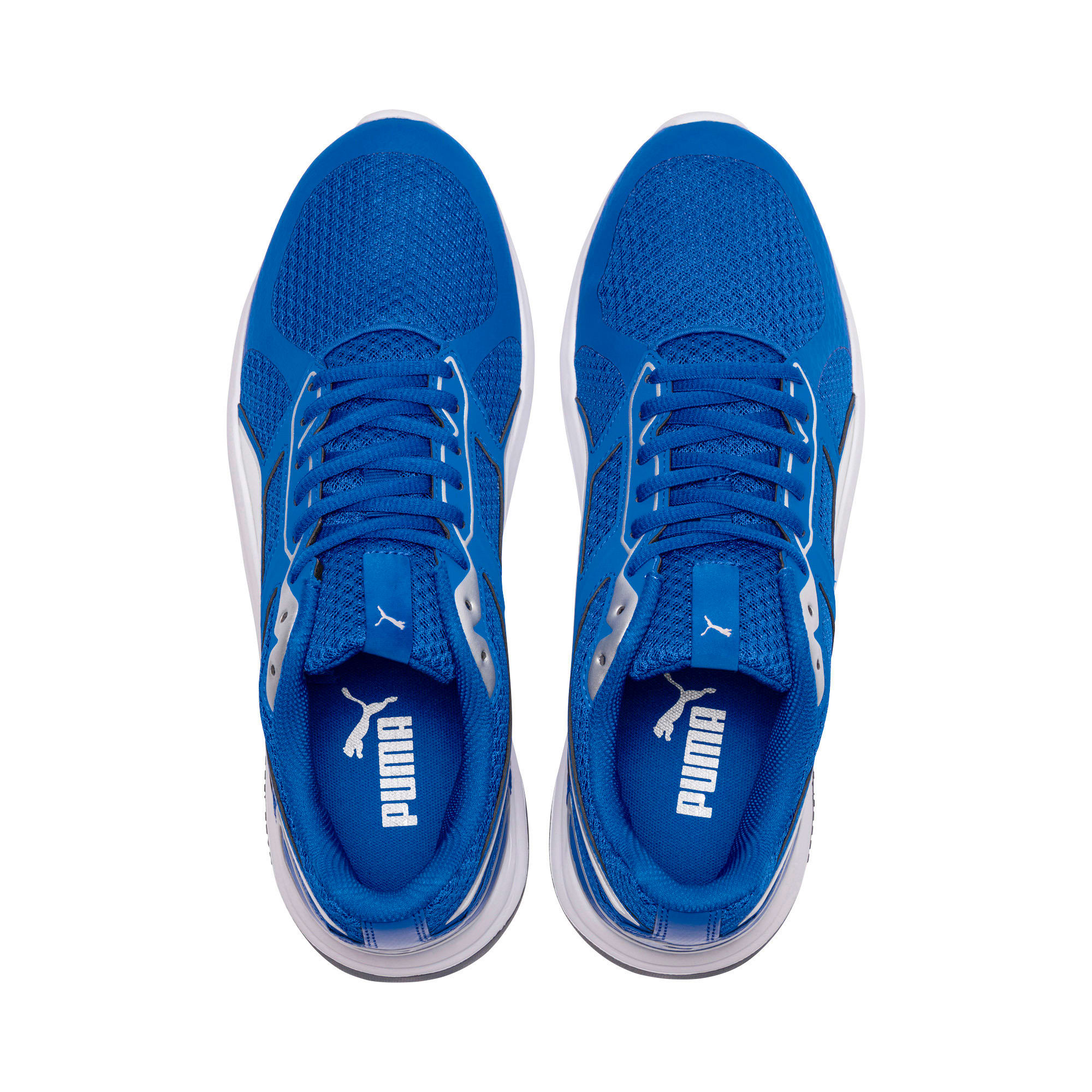 Thumbnail 6 of Escaper Tech Sneakers, Strong Bl-Puma Wh-Iron Gate, medium-IND