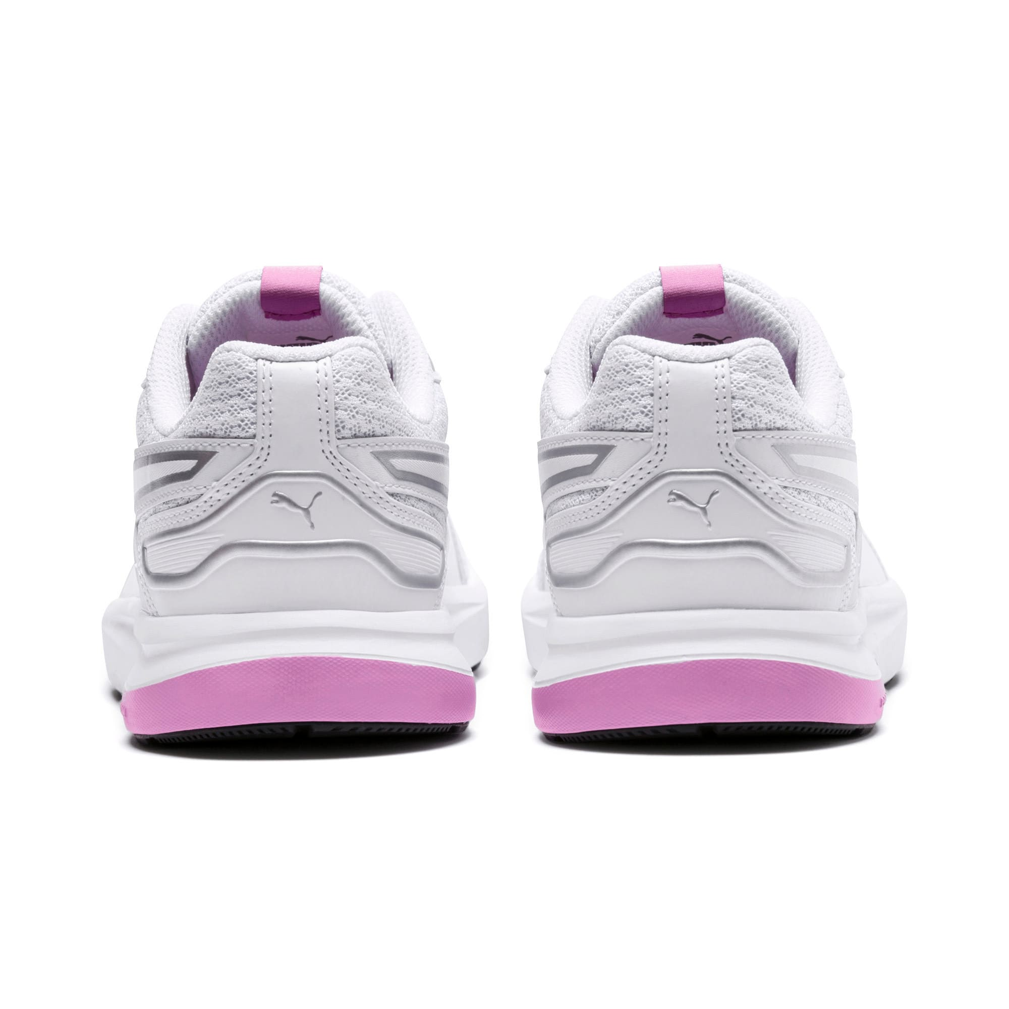 Thumbnail 3 of Escaper Tech Sneakers, Puma White-Puma White-Orchid, medium-IND