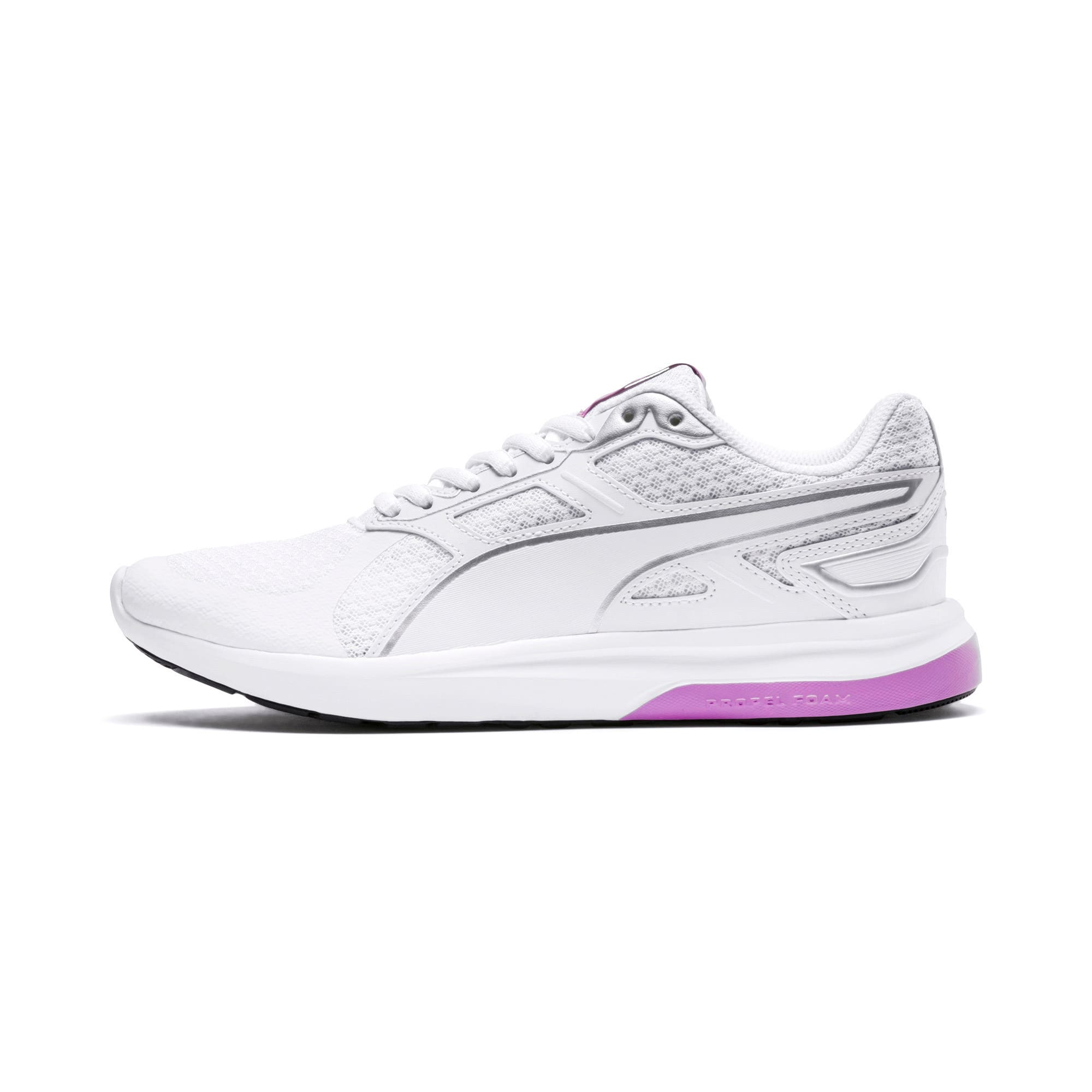 Thumbnail 1 of Escaper Tech Sneakers, Puma White-Puma White-Orchid, medium-IND